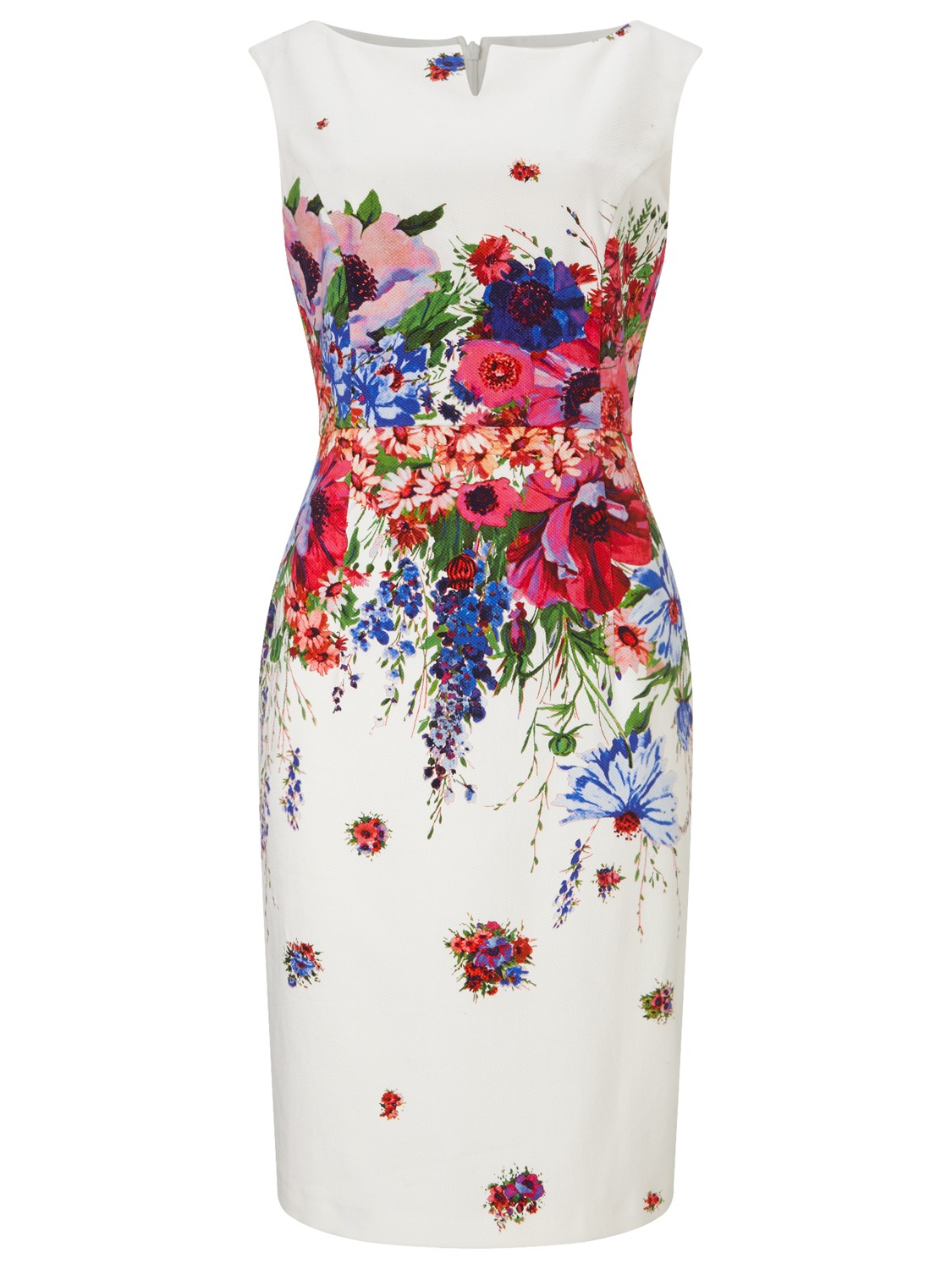 Phase Eight Louis Floral Dress In Multicolour Lyst