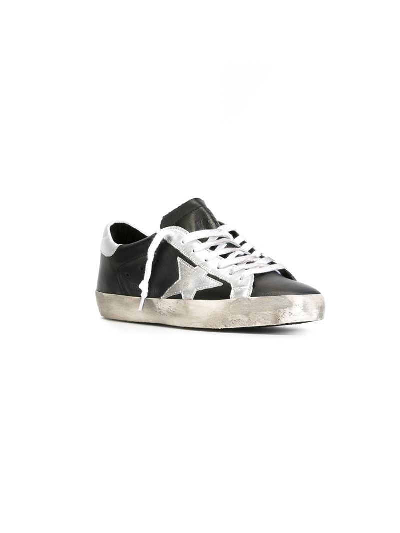 Cheap Sale Popular Golden Goose Archive Leather Sneakers Free Shipping Order For Sale Online Store ibXZS59qx