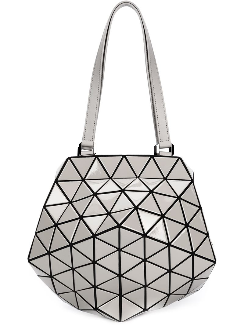 fff4e9c9985e Lyst - Bao Bao Issey Miyake Prism Planet Shoulder Bag in Metallic