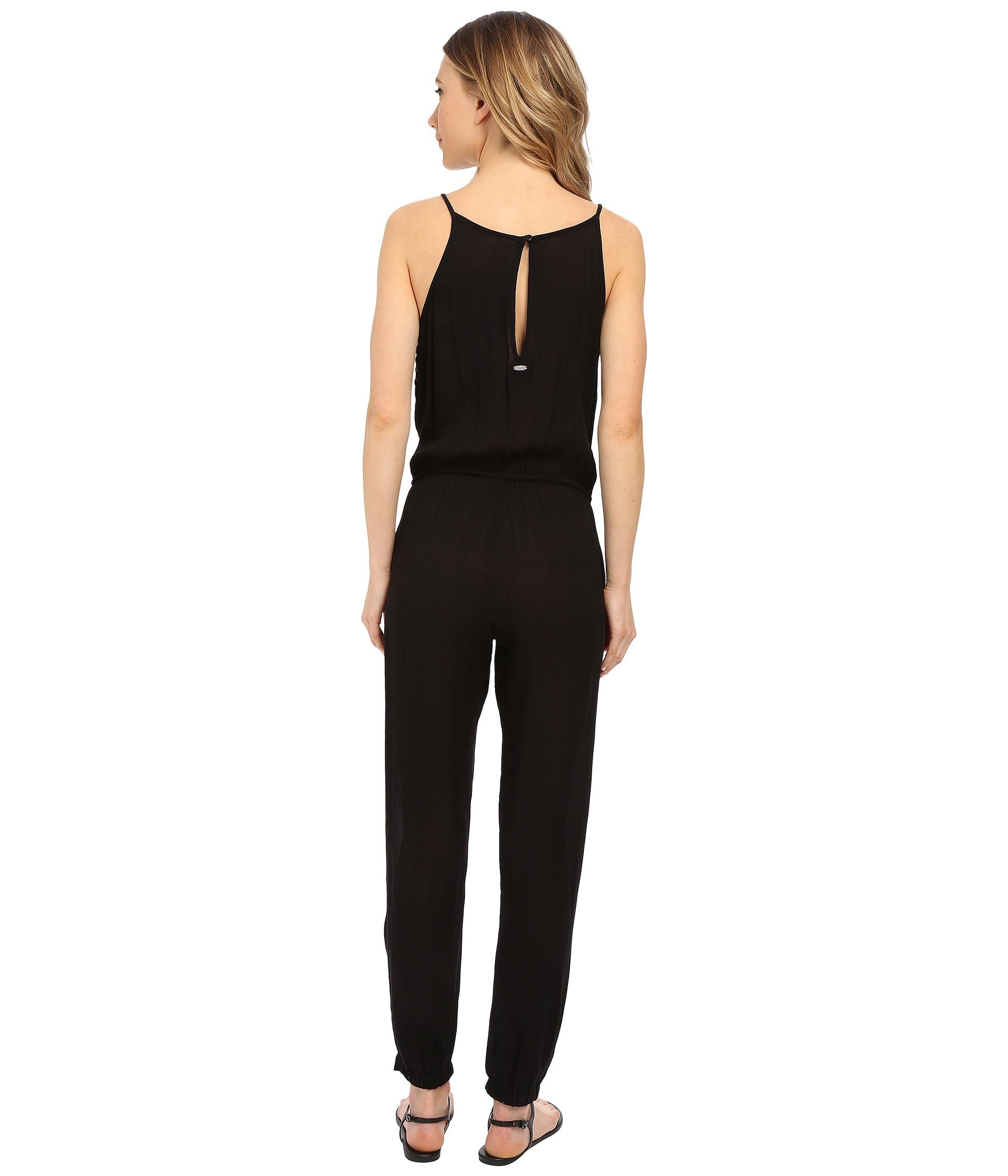 52571fc06a65 Lyst - Rip Curl Ritual Jumpsuit in Black