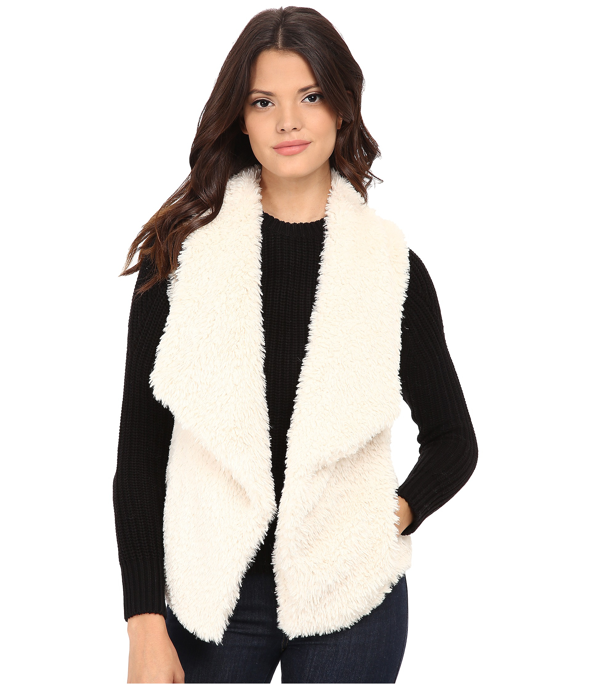 Find great deals on eBay for White Fur Gilet in Coats and Jackets for the Modern Lady. Shop with confidence. Find great deals on eBay for White Fur Gilet in Coats and Jackets for the Modern Lady. 1 x Vest Faux Fox Fur Waistcoat. Exact Material: Faux Fur. MPN: Does not apply. UK Women Lady Winter Warm Gilet Outwear Vest Faux Fox Fur.