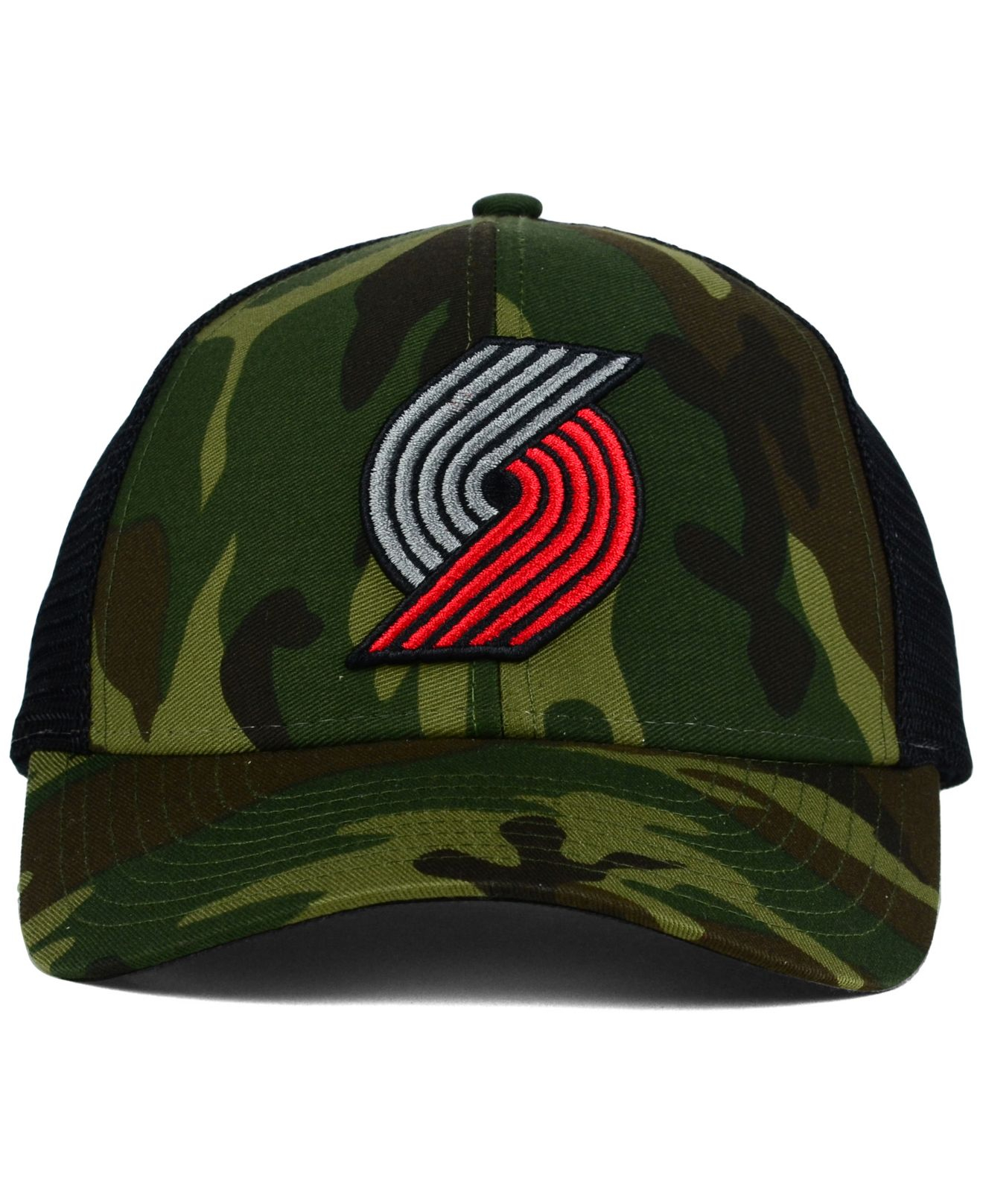 f73770fac5a58 ... reduced lyst adidas portland trail blazers camo trucker cap in green  for men bf501 6ef66