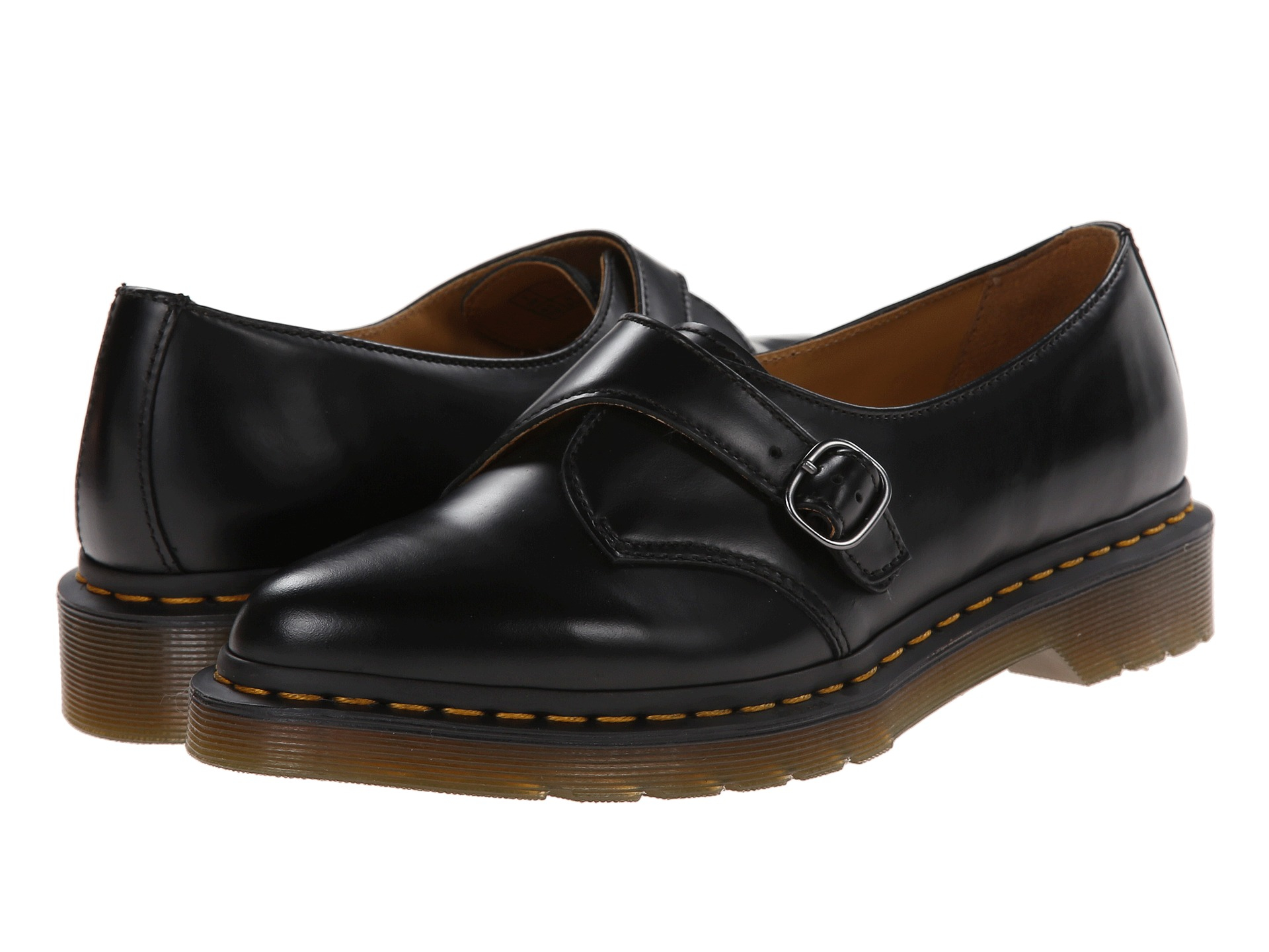 Lyst Dr Martens Agnes Pointed Monk In Black