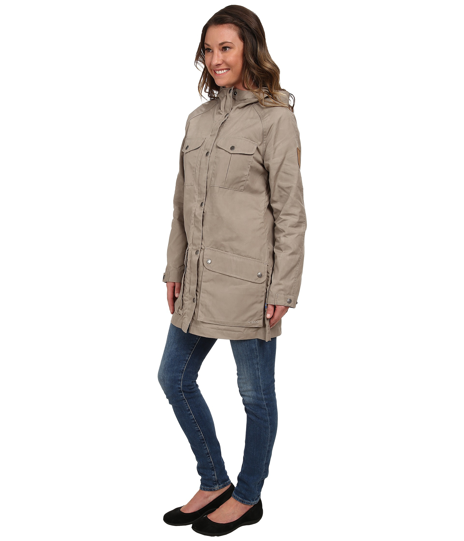 Fjallraven Greenland Parka Light in Natural | Lyst