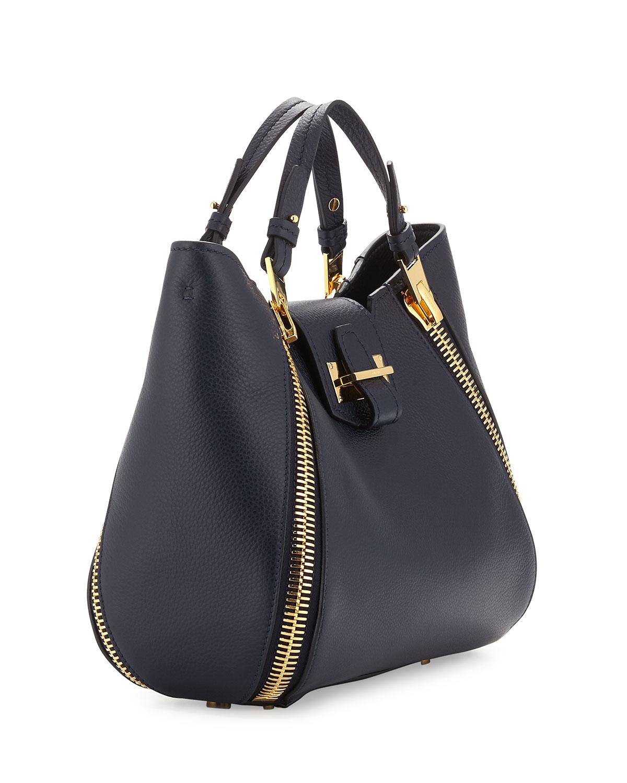 8f502185e62 Lyst - Tom Ford Sedgwick Mini Zipper Tote Bag in Blue