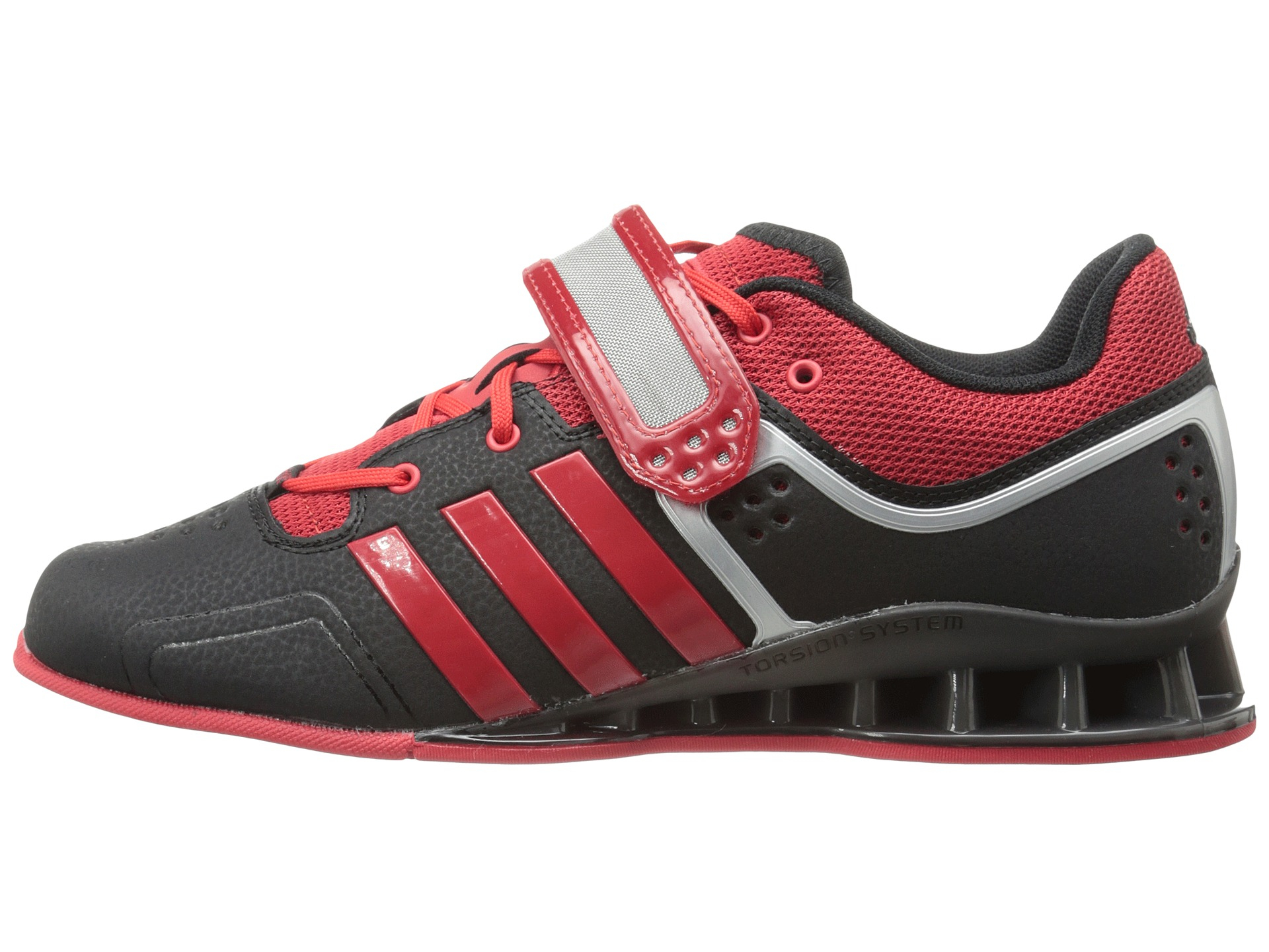 Adidas Men S Adipower Weightlift Weightlifting Shoes Black Red