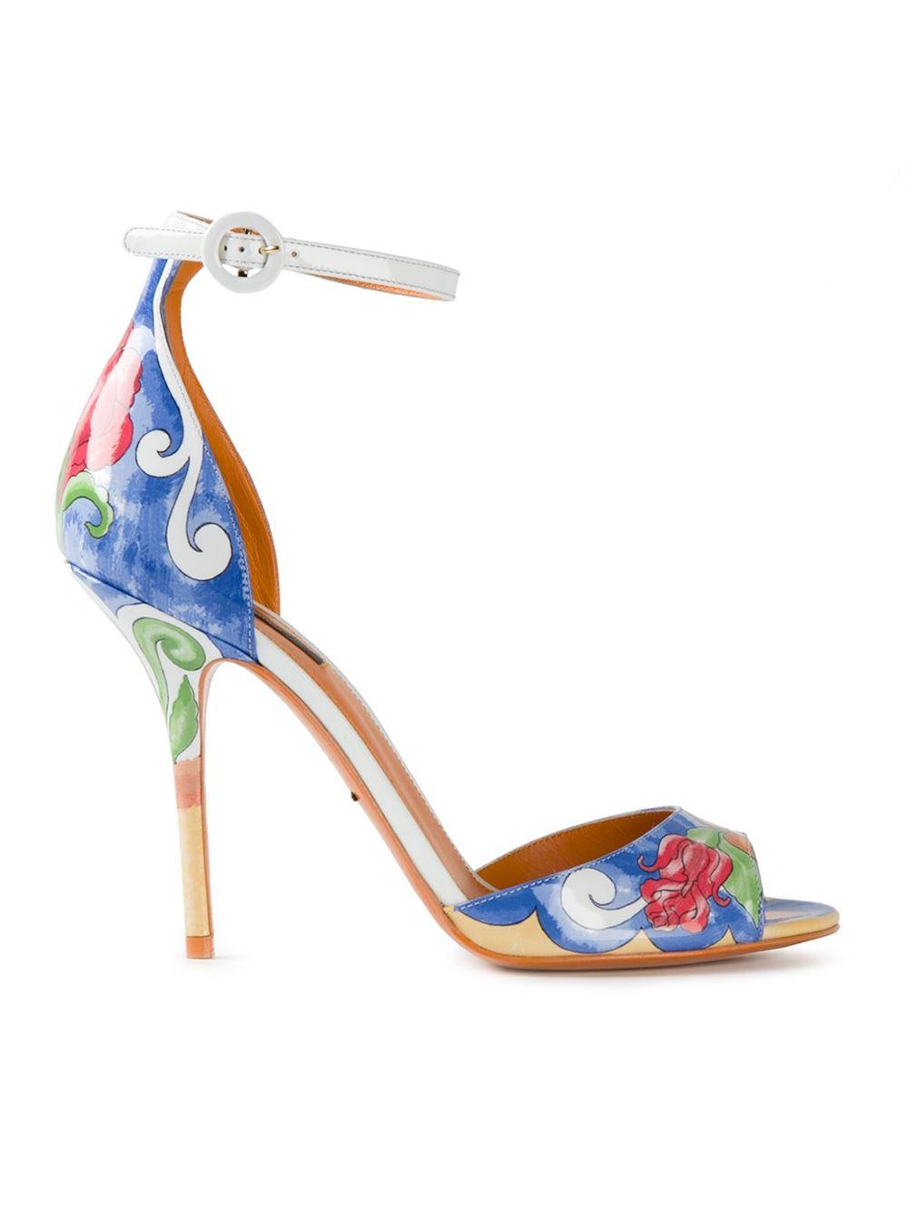 Dolce & Gabbana Keira Leopard Print sandals lBie4e