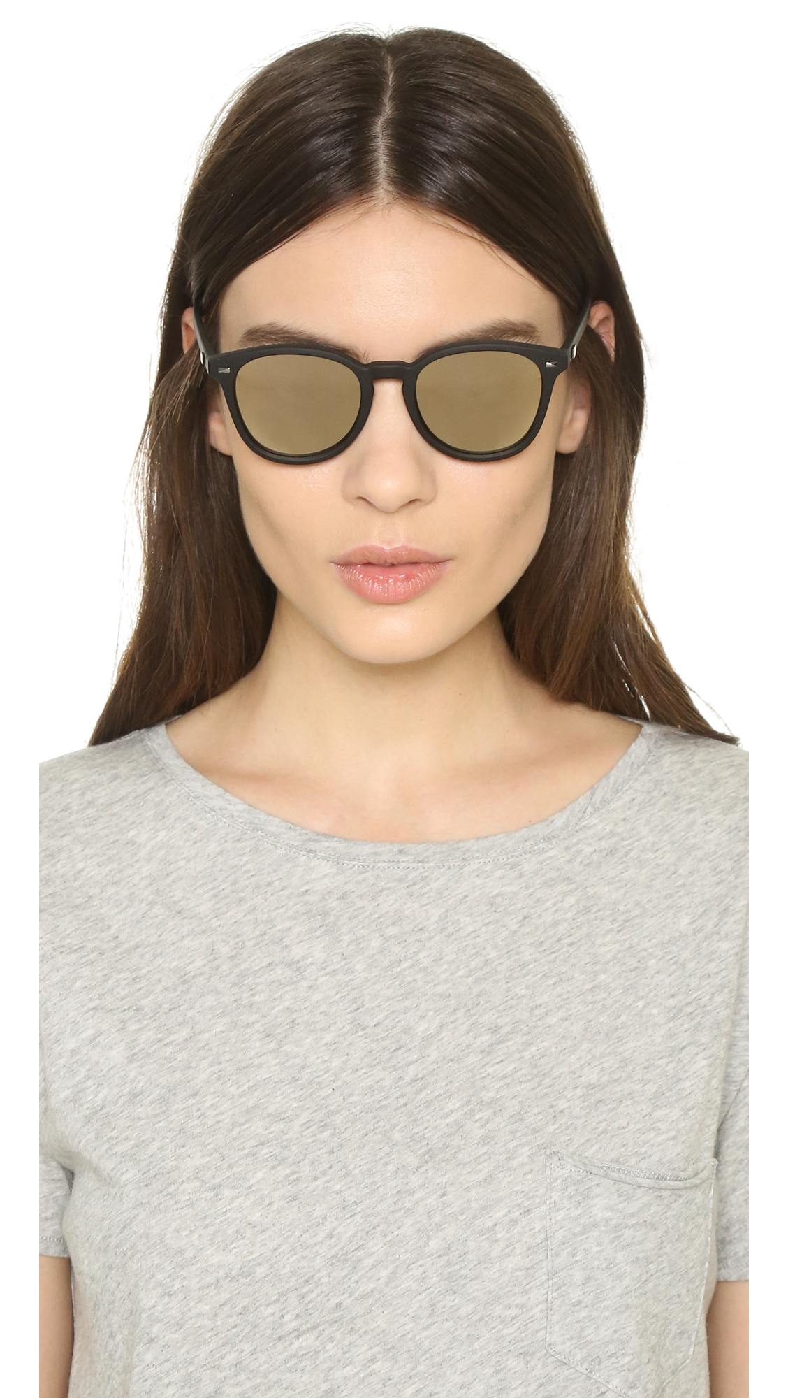 a4151e2433d Le Specs Bandwagon Sunglasses in Black - Lyst