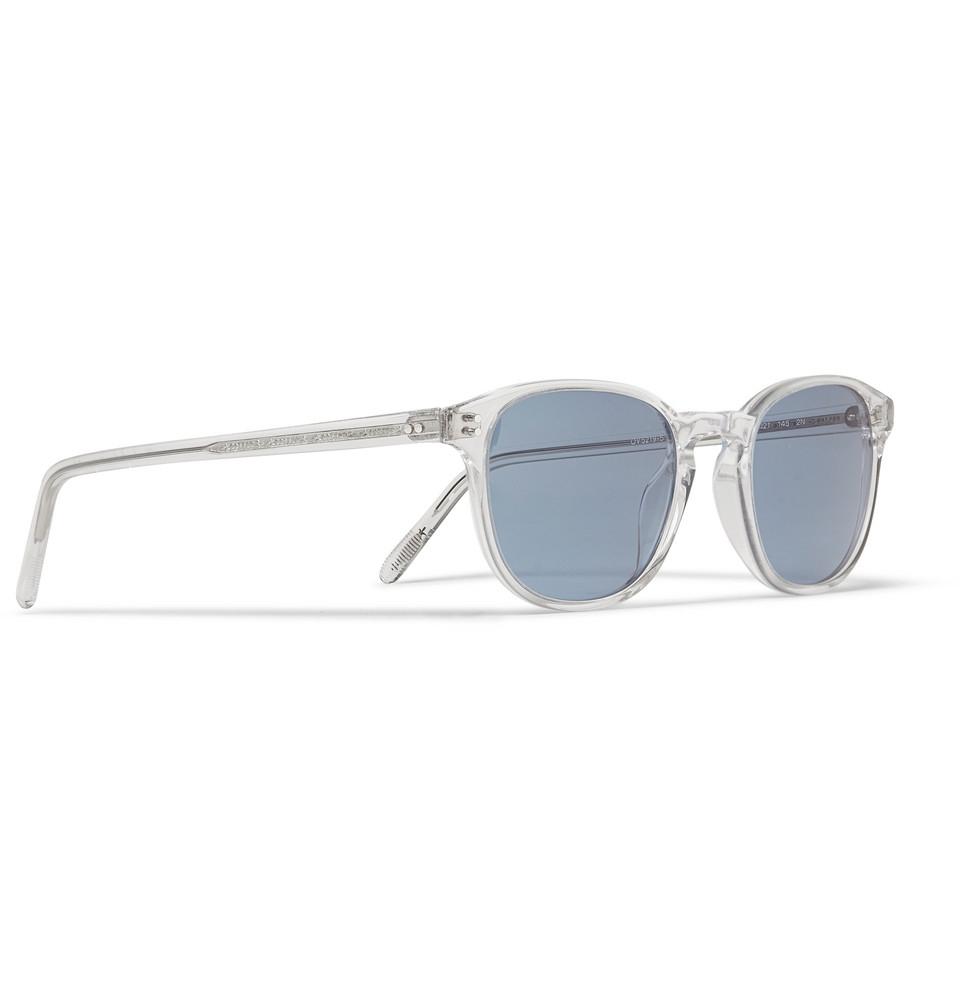 round-frame sunglasses - Blue Oliver Peoples Pj9m5K