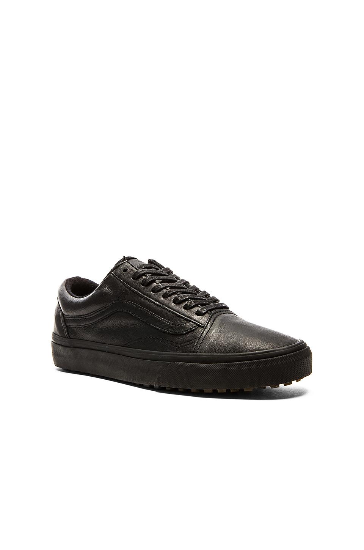 mens vans grey & black old skool mte trainers