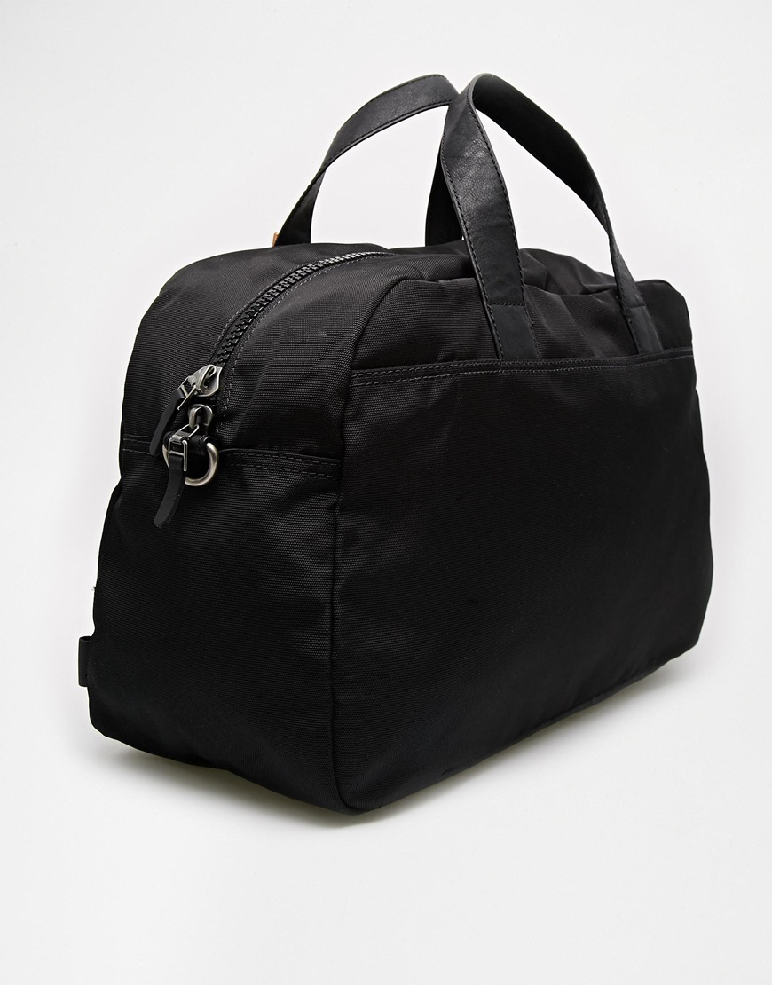 Esprit Nylon Weekender Bag in Black for Men | Lyst