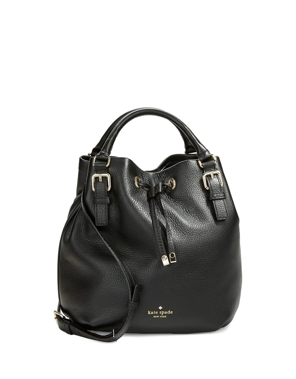 Kate Spade New York Cobble Hill Sandy Bucket Bag In Black