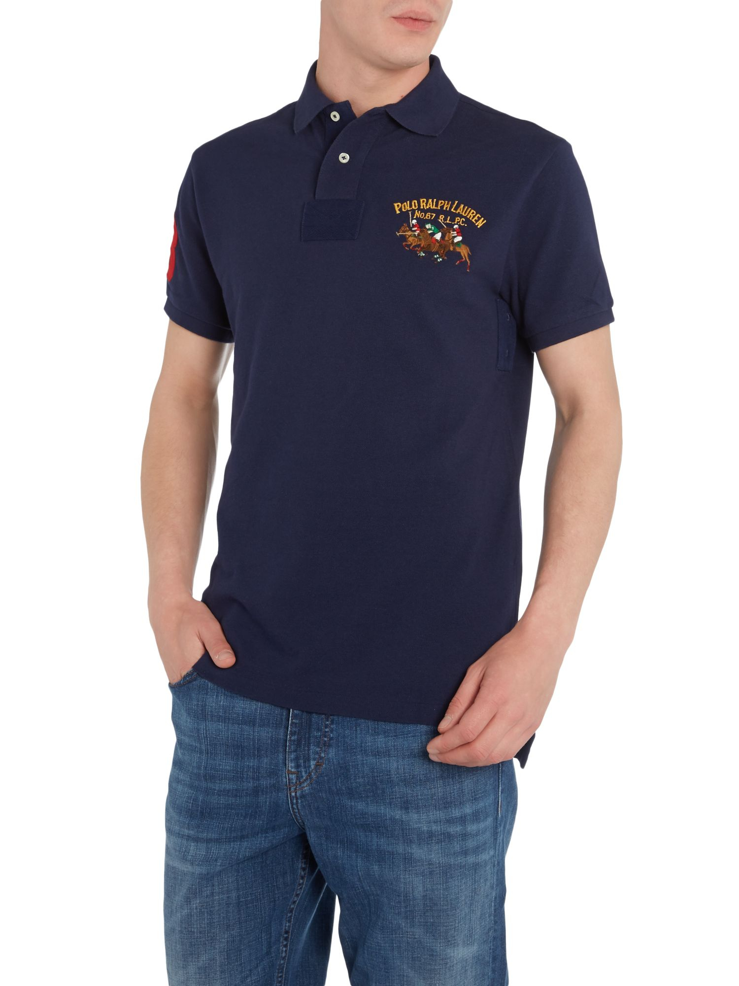 Lyst Polo Ralph Lauren Custom Fit Double Polo Player