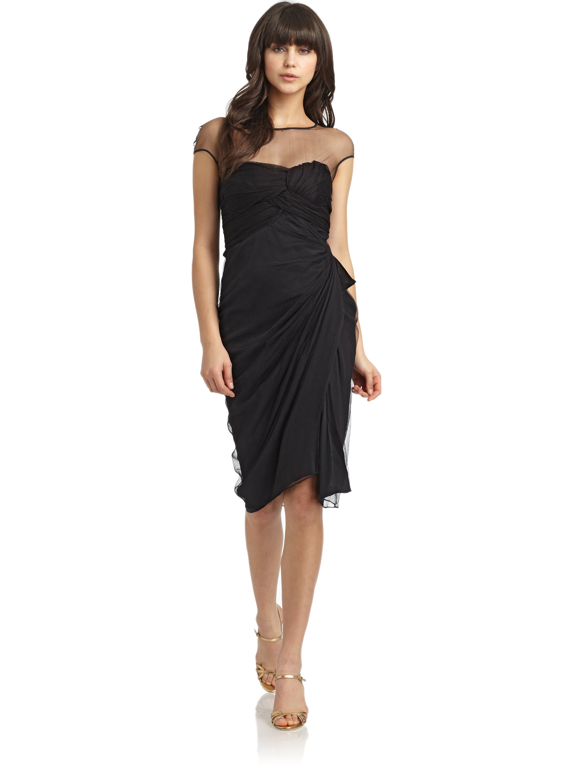 black silk dress - HD 2000×2667