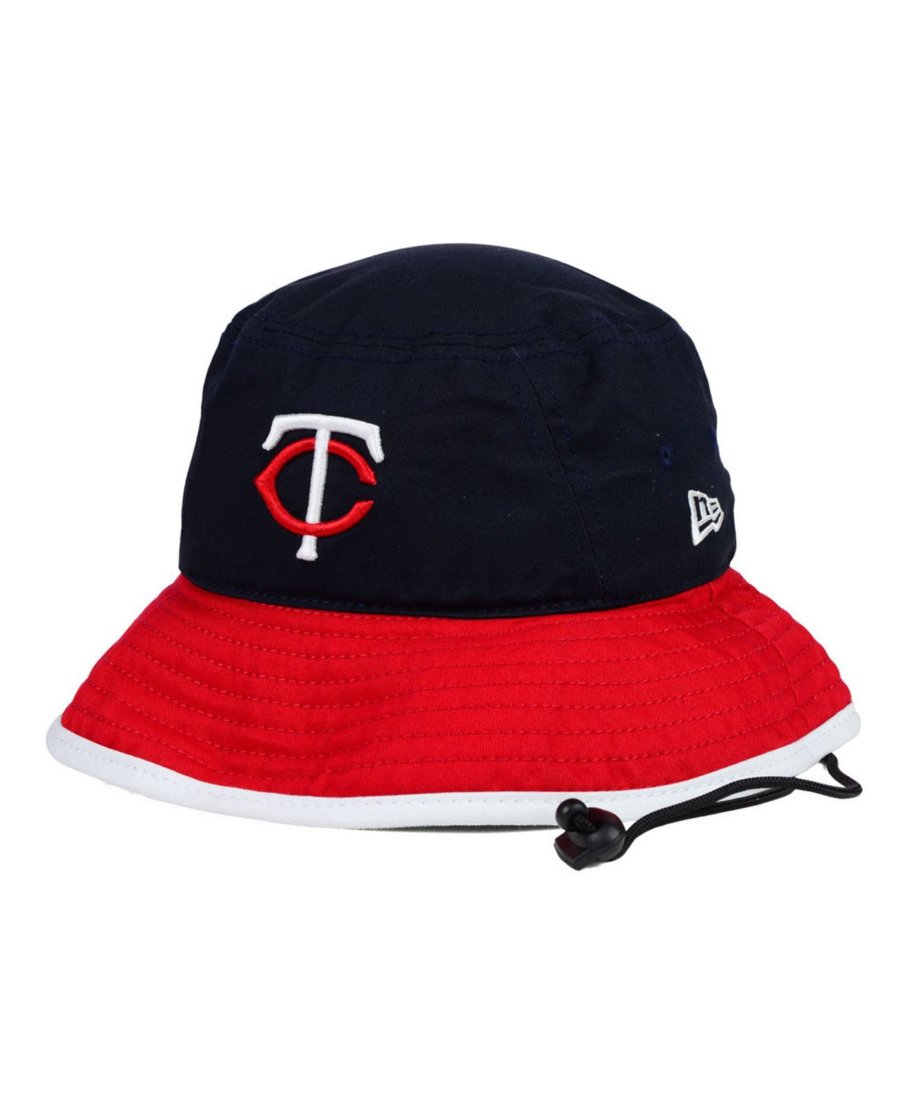 5f81630bbbfb0 Lyst - KTZ Minnesota Twins Triple Color Tipped Bucket Hat in Blue ...