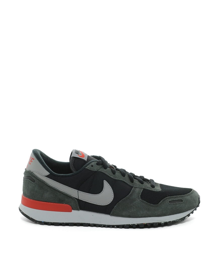 nike air vortex trainers in black lyst. Black Bedroom Furniture Sets. Home Design Ideas