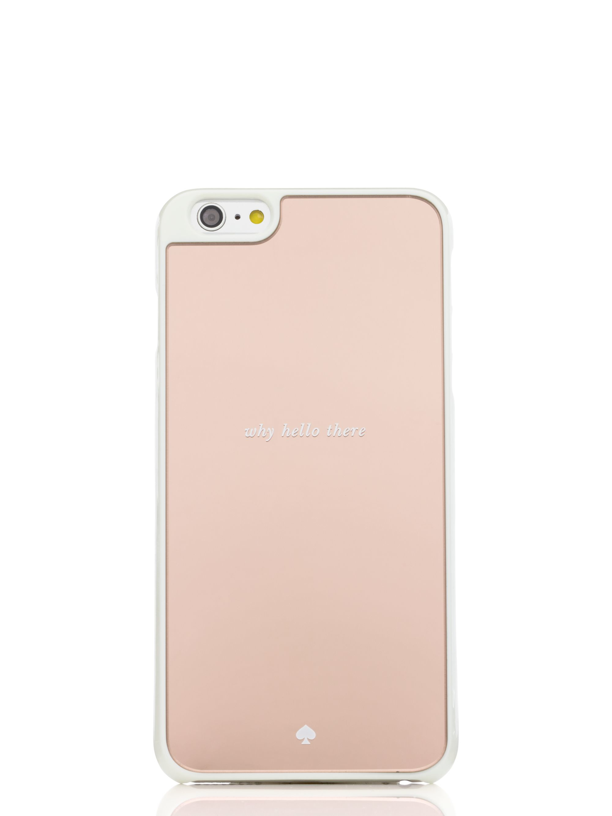 lyst kate spade why hello there mirrored iphone 6 plus case in pinkgallery women\u0027s yellow purses women\u0027s iphone 7 cases