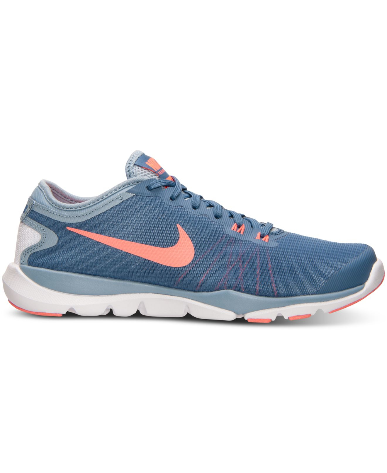 b6cace2a026 Lyst - Nike Women s Flex Supreme Tr 4 Training Sneakers From Finish ...