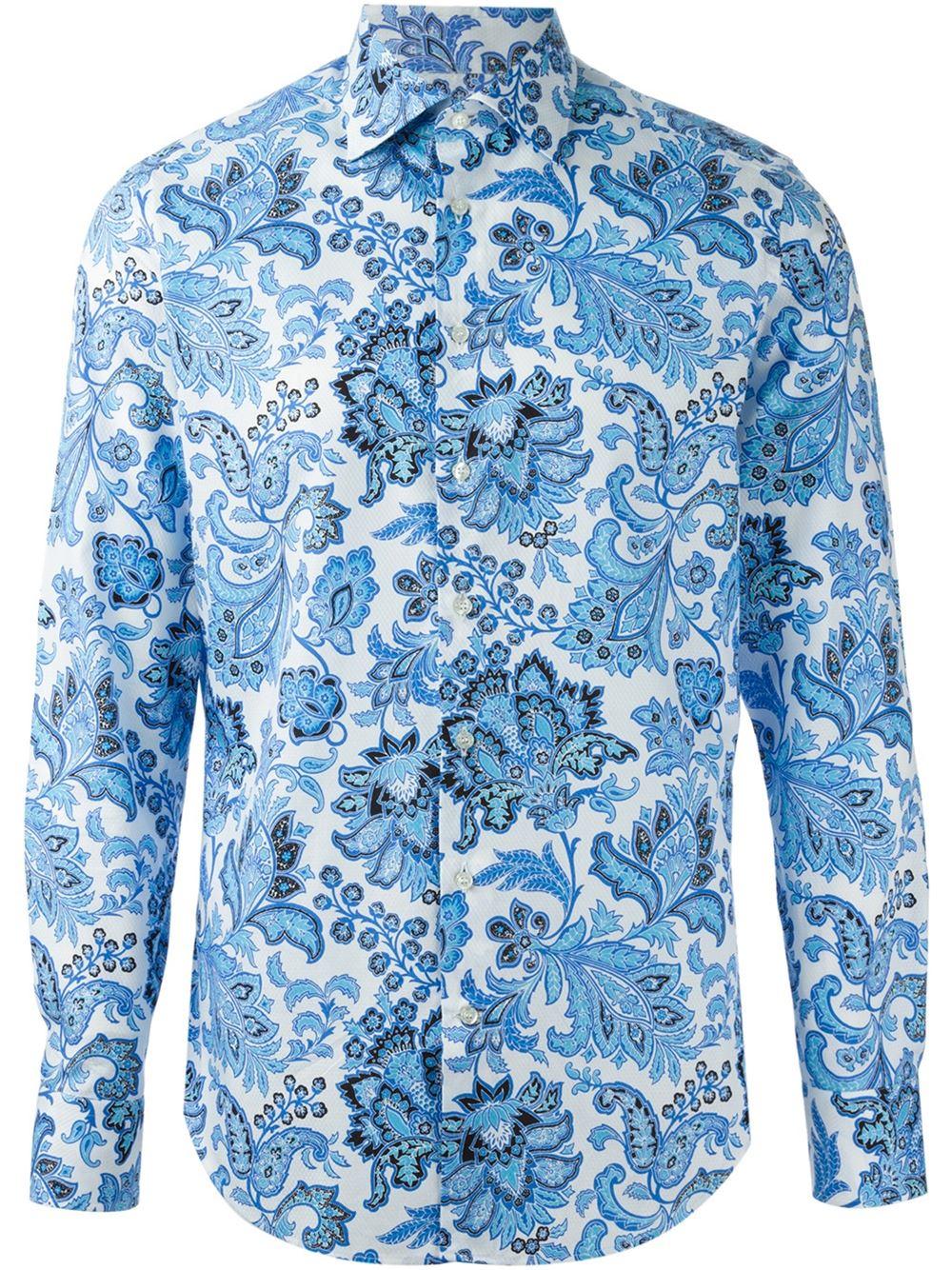 blue floral shirt mens is shirt