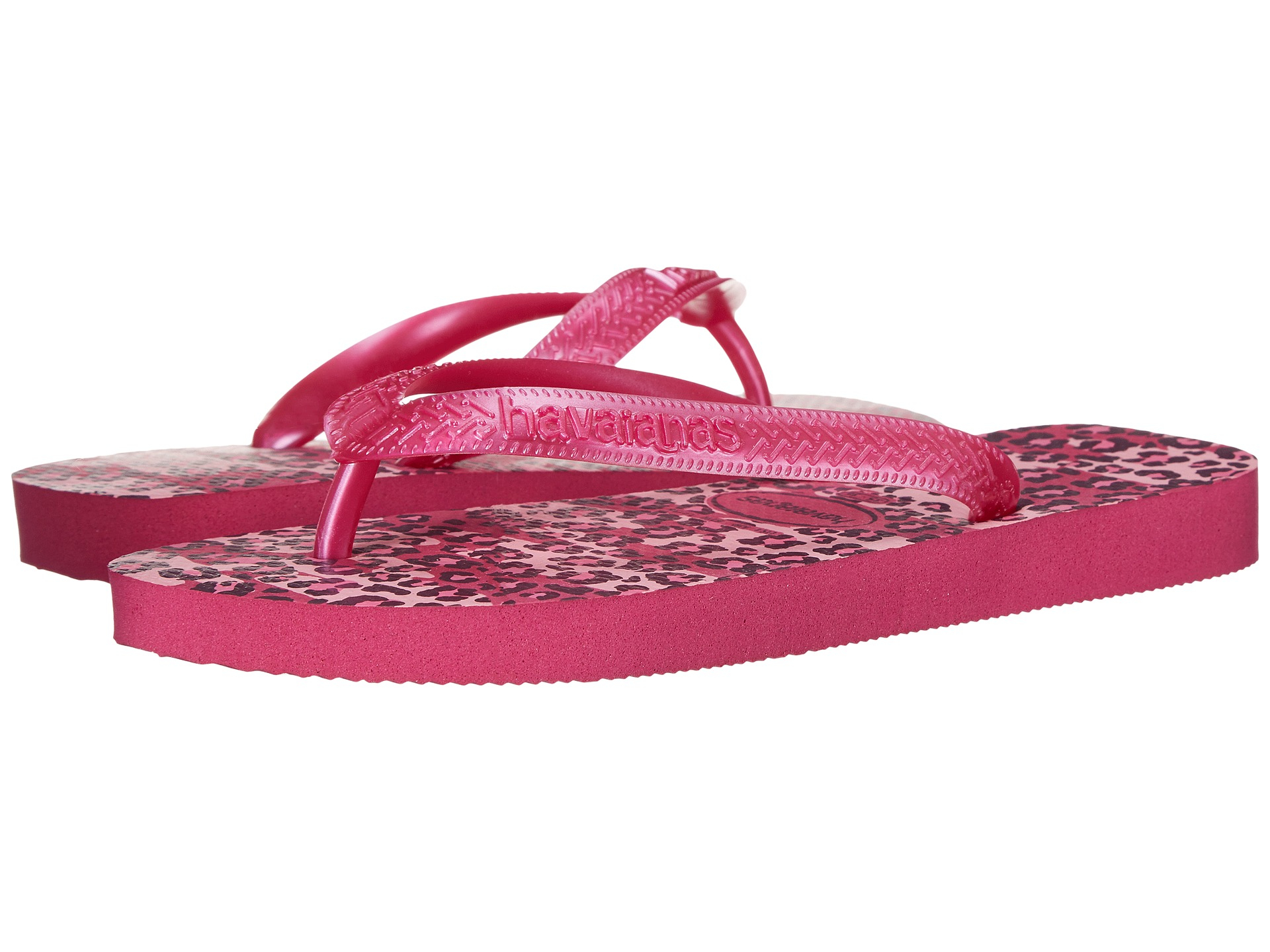 129e2a680 Lyst - Havaianas Top Animals Flip Flops in Red