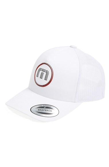 pretty nice b6ee6 f98eb ... uk lyst travis mathew breeze baseball cap in white for men 9d660 87b4b