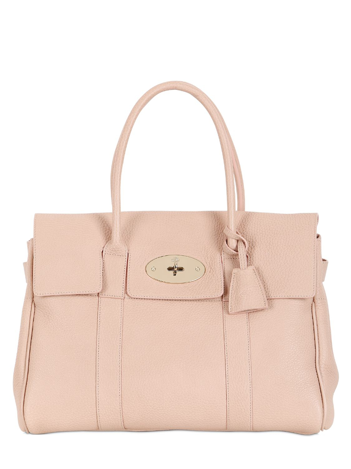 5c822d2d30 Mulberry Bayswater Soft Grained Leather Bag in Pink - Lyst