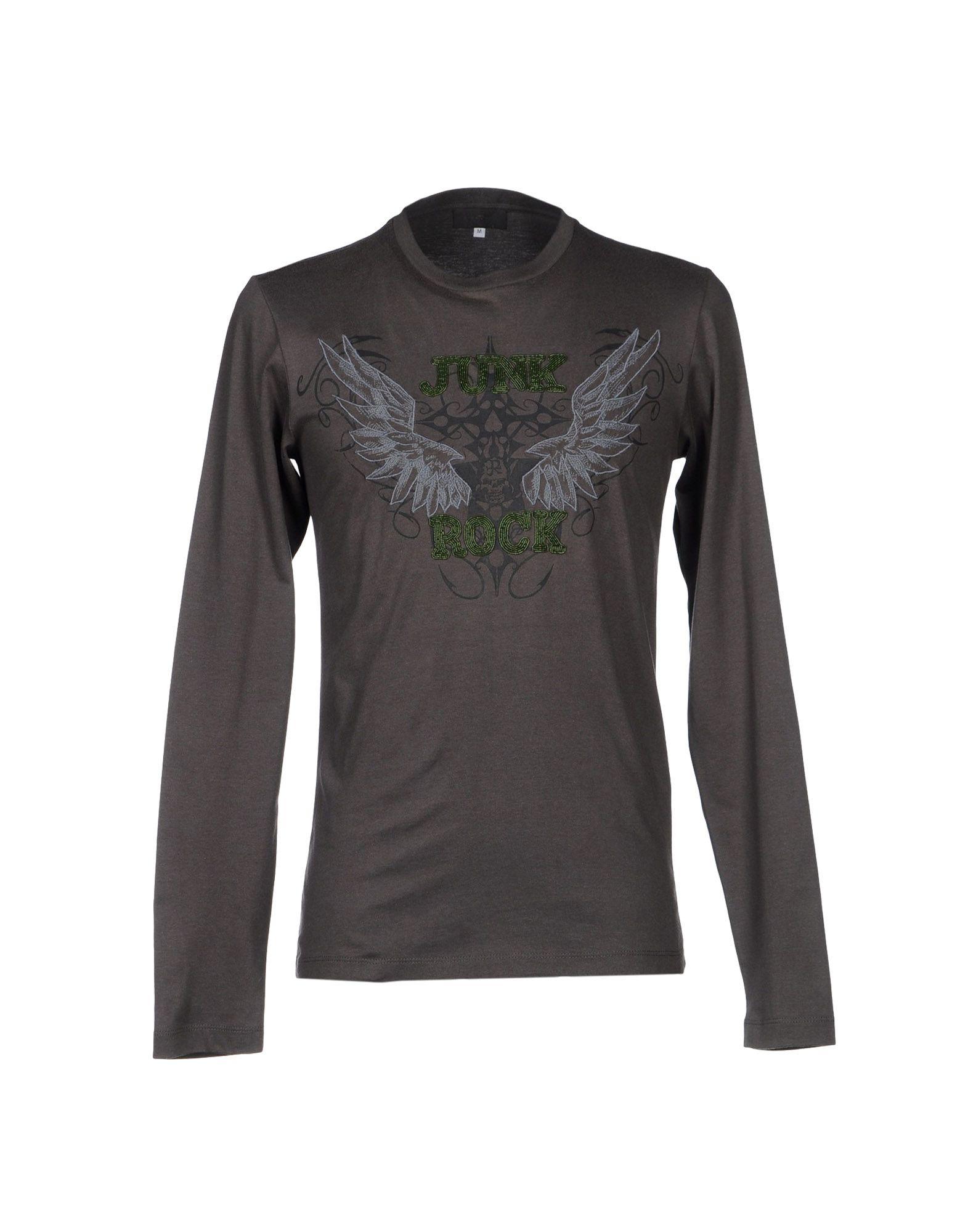 John richmond t shirt in gray for men lyst for T shirt printing richmond va