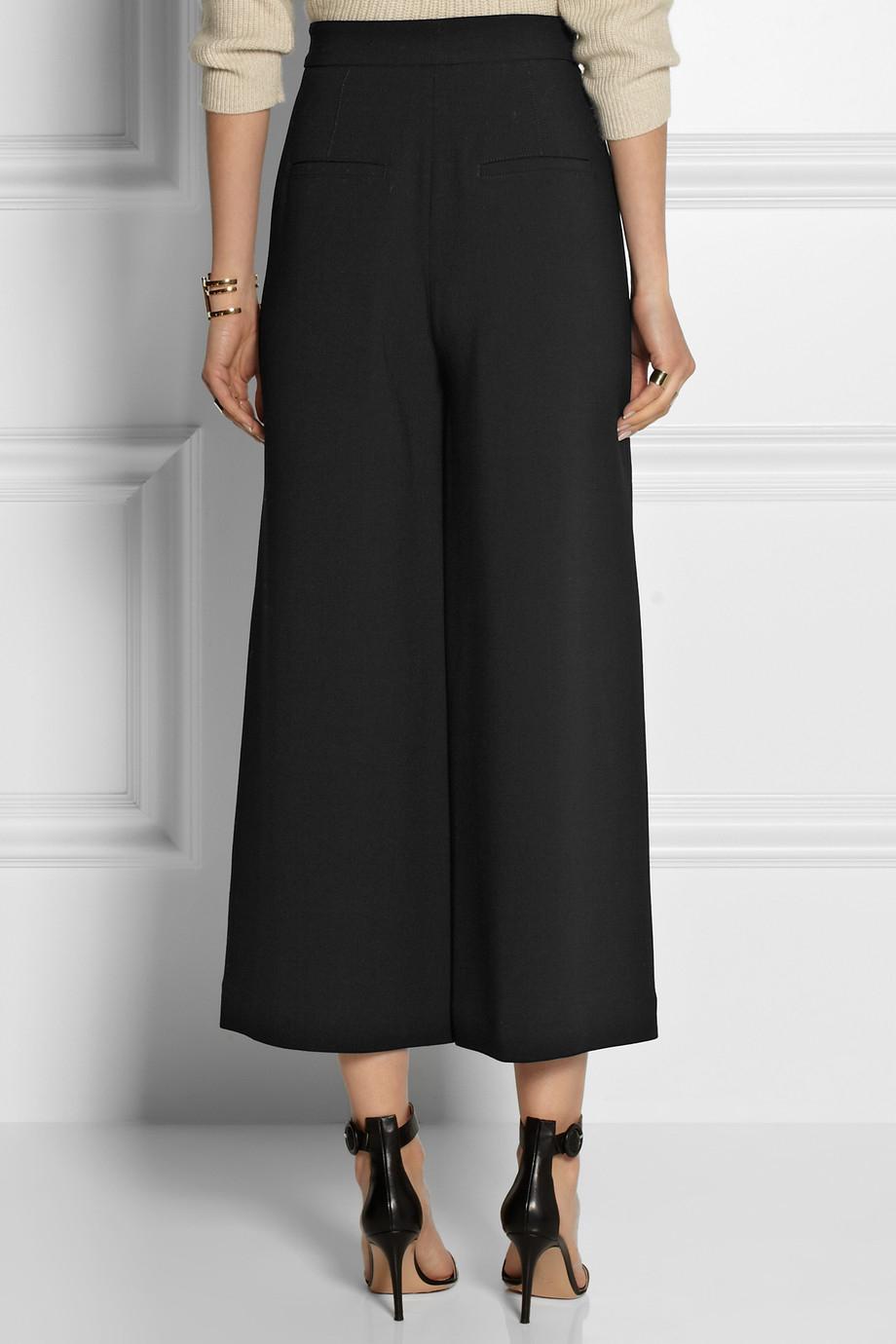 Wide-leg wool trousers Proenza Schouler Fsqg9jt