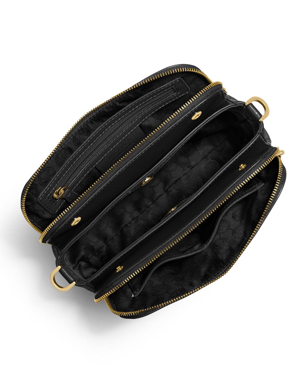 Lyst - MICHAEL Michael Kors Bedford Medium Double-zip Messenger Bag ... fe1e006164498