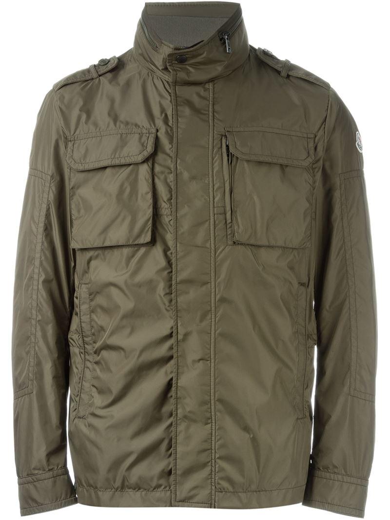 8adecbca7 Lyst - Moncler  jonathan  Padded Jacket in Green for Men