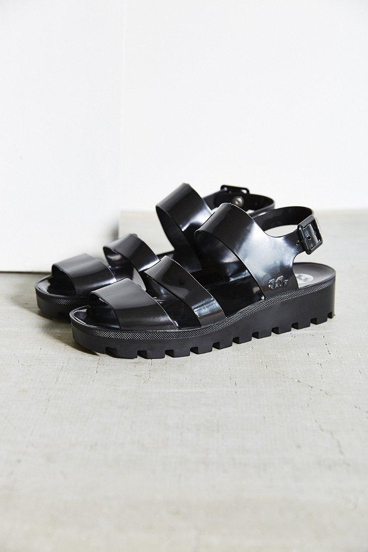 Black juju sandals - Gallery
