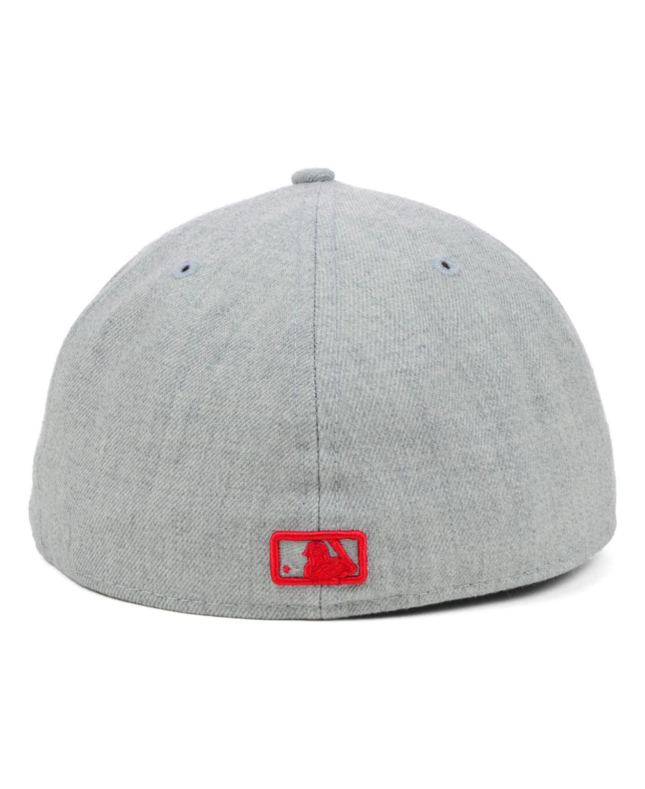 on sale 64771 510af ... coupon code lyst ktz houston astros mlb heather basic 59fifty cap in  red for men becdf