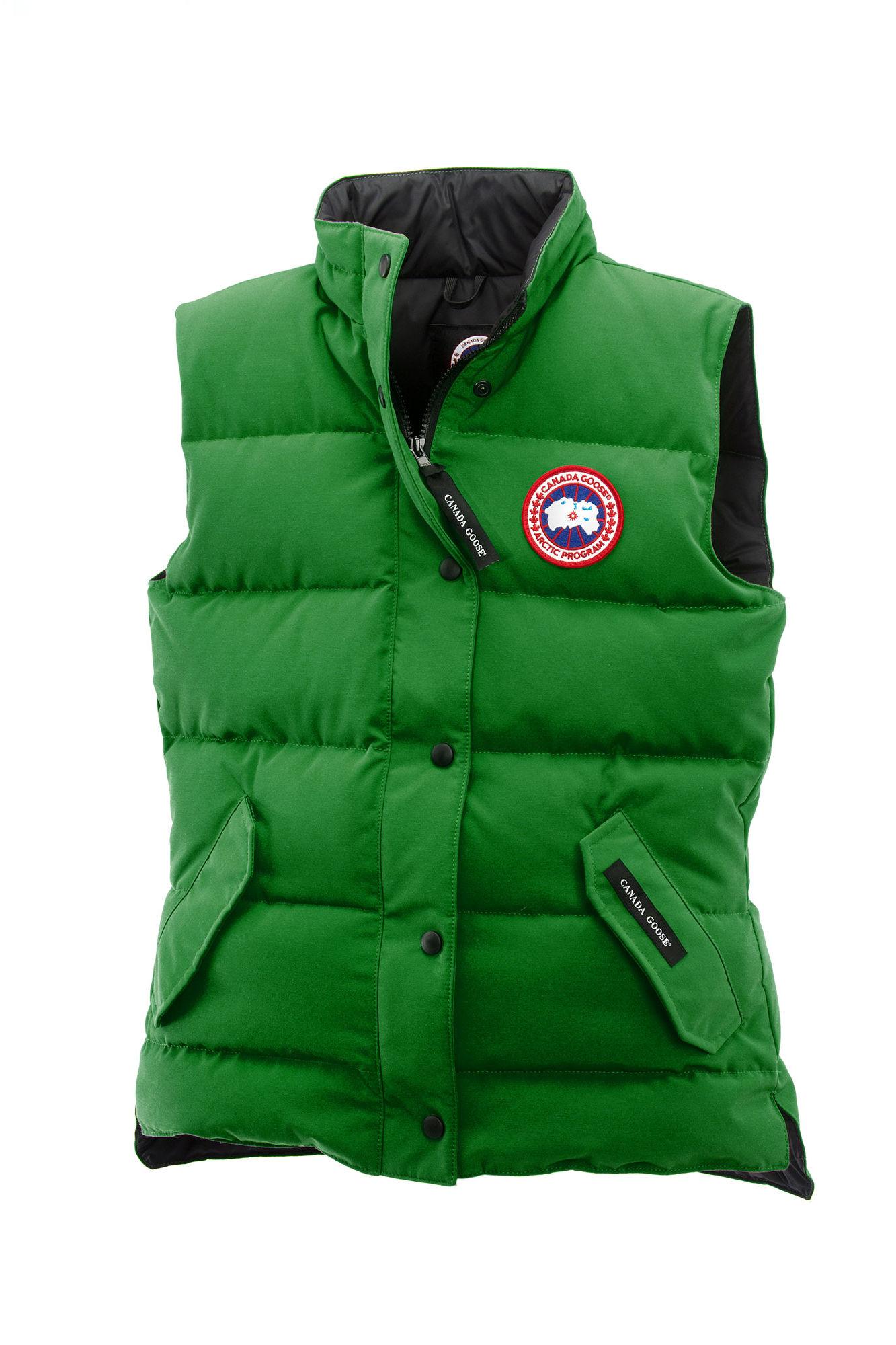Canada Goose victoria parka replica authentic - Canada goose Freestyle Vest in Green for Men (Jade Green) | Lyst