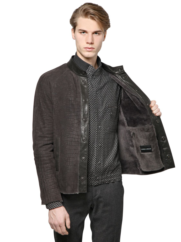 Emporio Armani Mens Outerwear