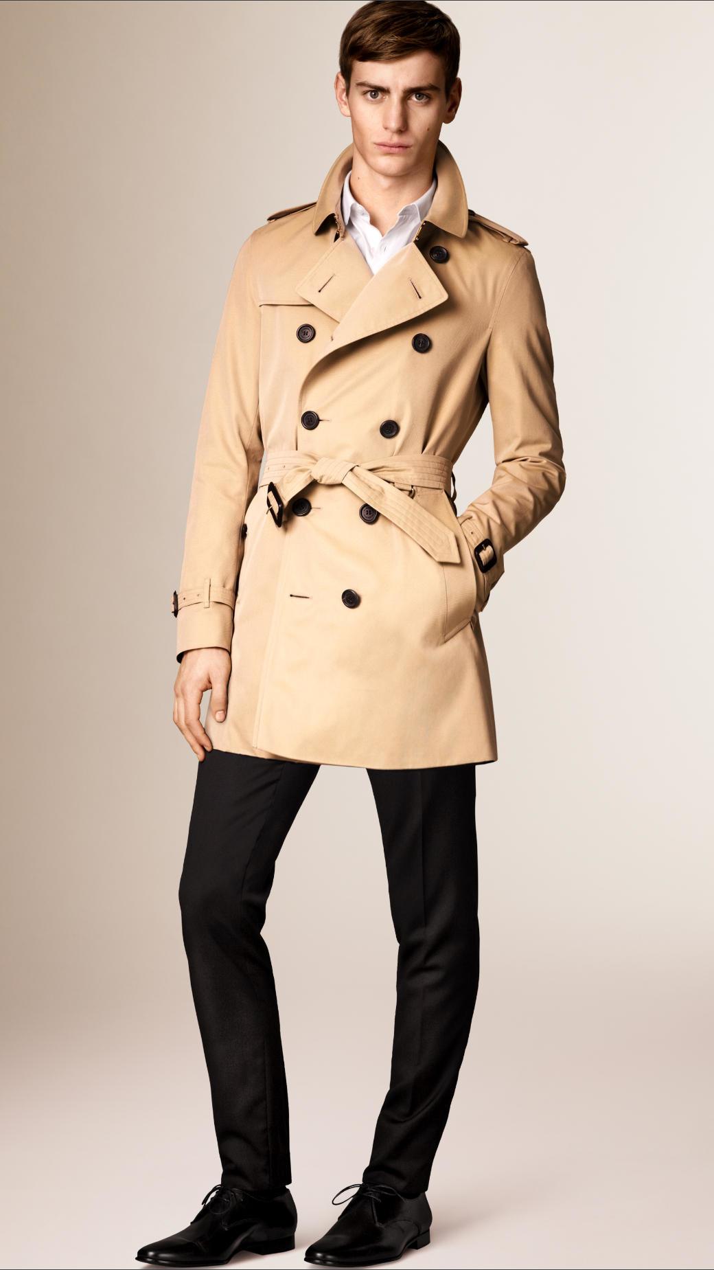 Burberry The Sandringham – Mid-length Heritage Trench Coat ...