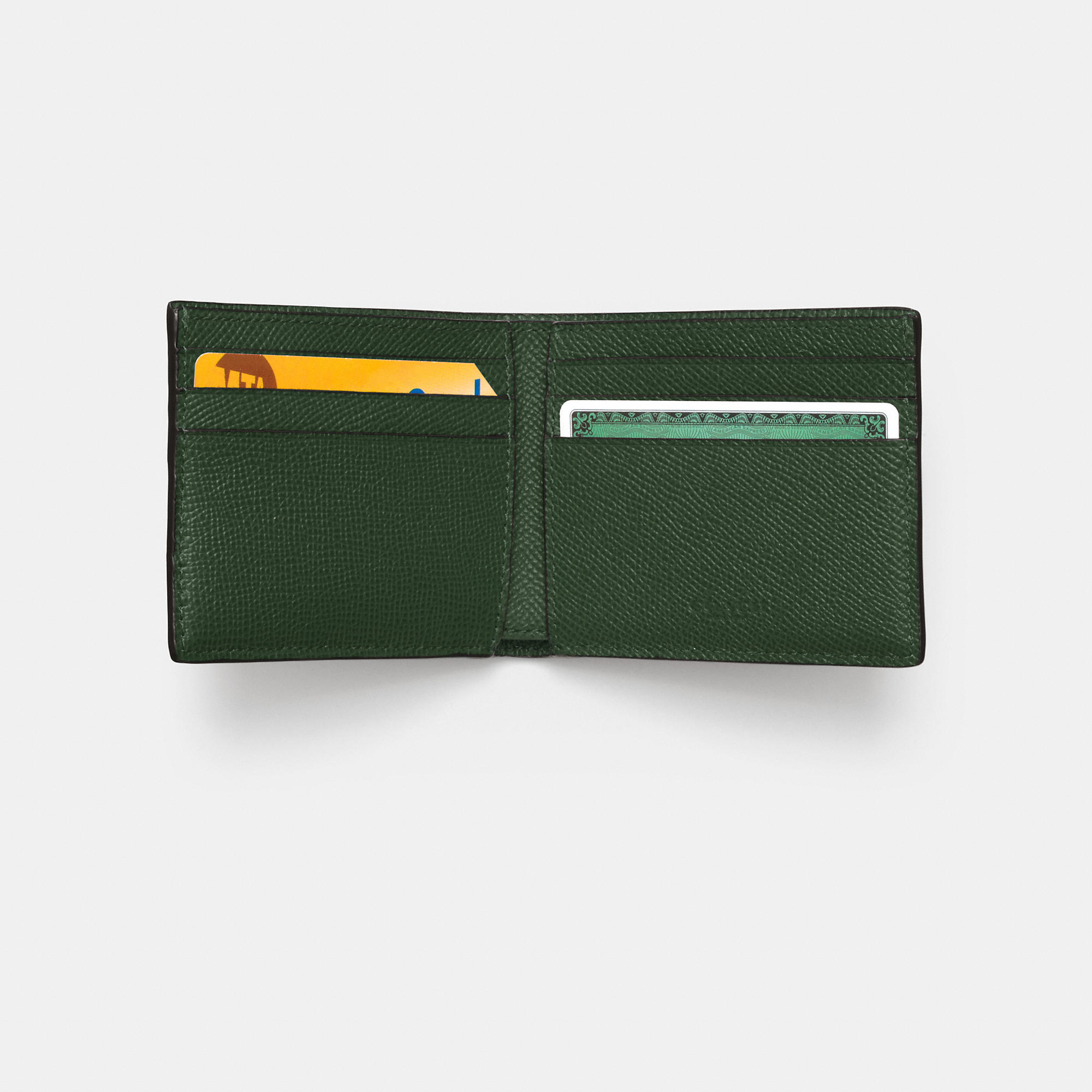9f2cb6a3 clearance coach mens wallet green fd900 6758e