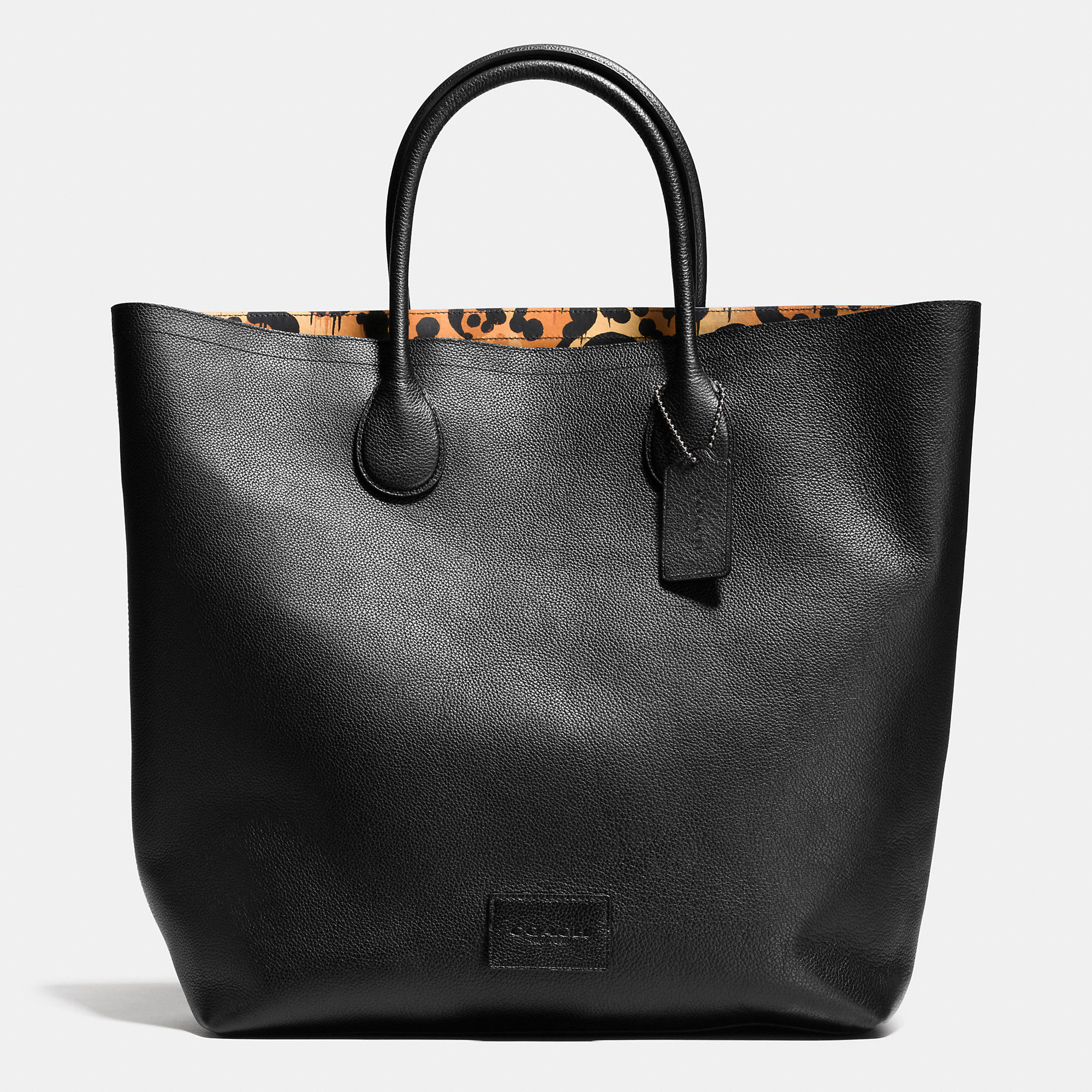 Lyst Coach Unlined Mercer Tote In Pebble Leather In