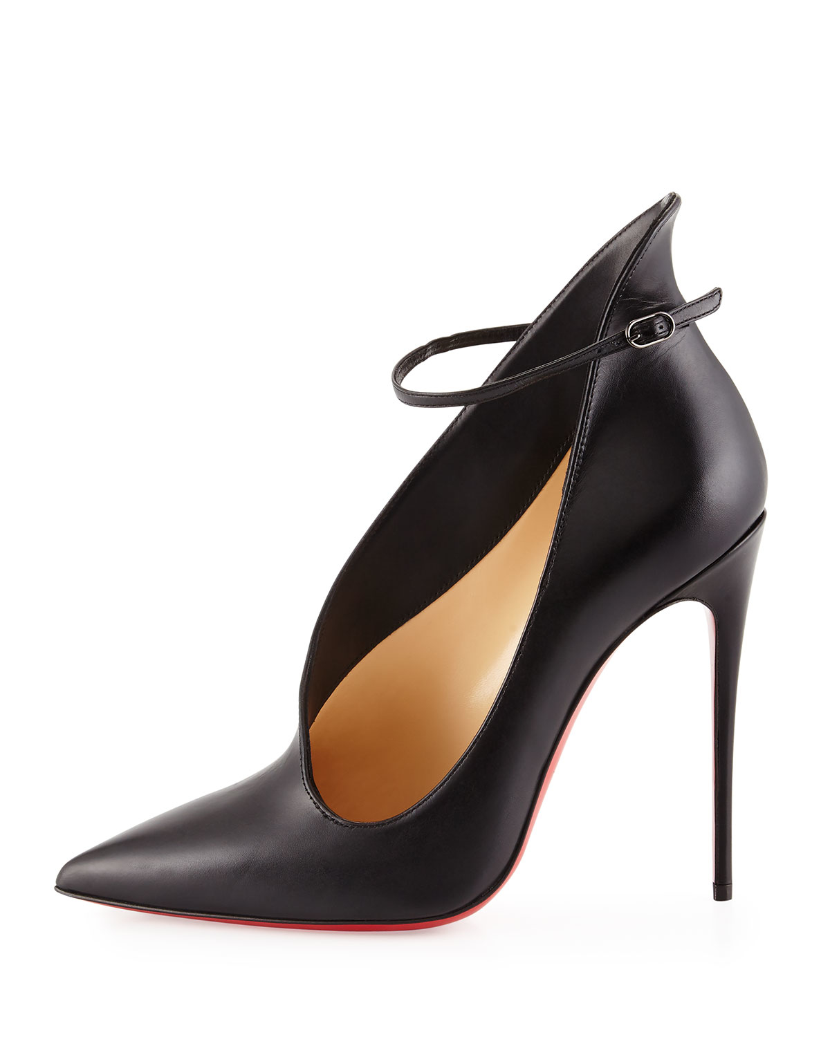 size 40 73ea3 2c4d0 free shipping louboutin black pumps red sole pump 76a41 3e607