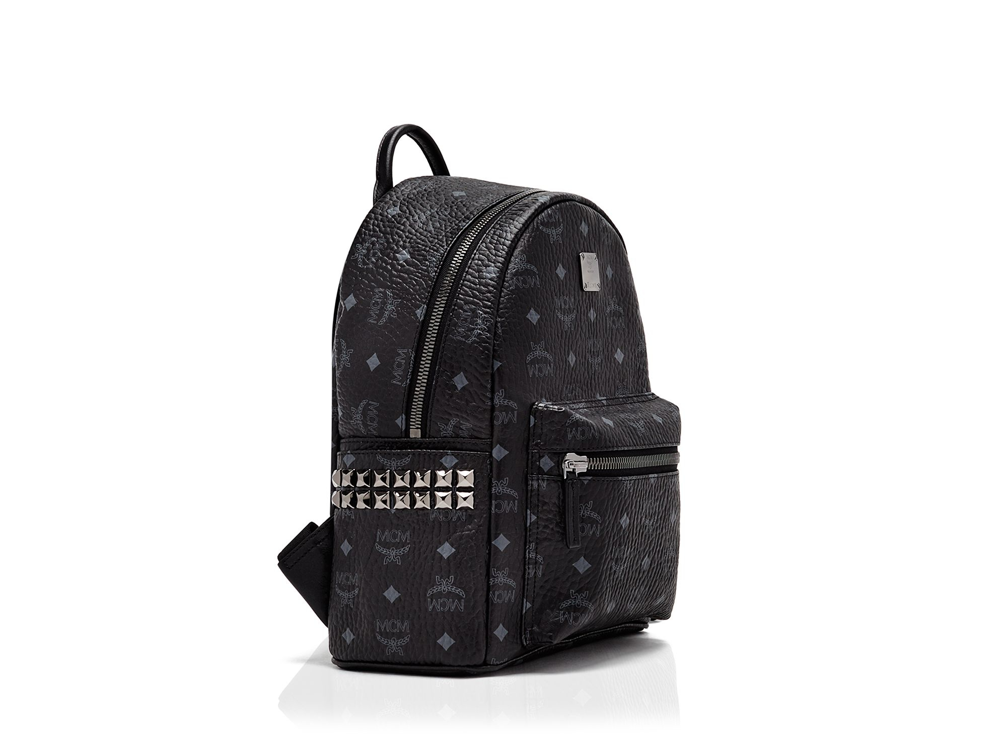 Mcm Backpack - Small Stark Side Stud in Black | Lyst