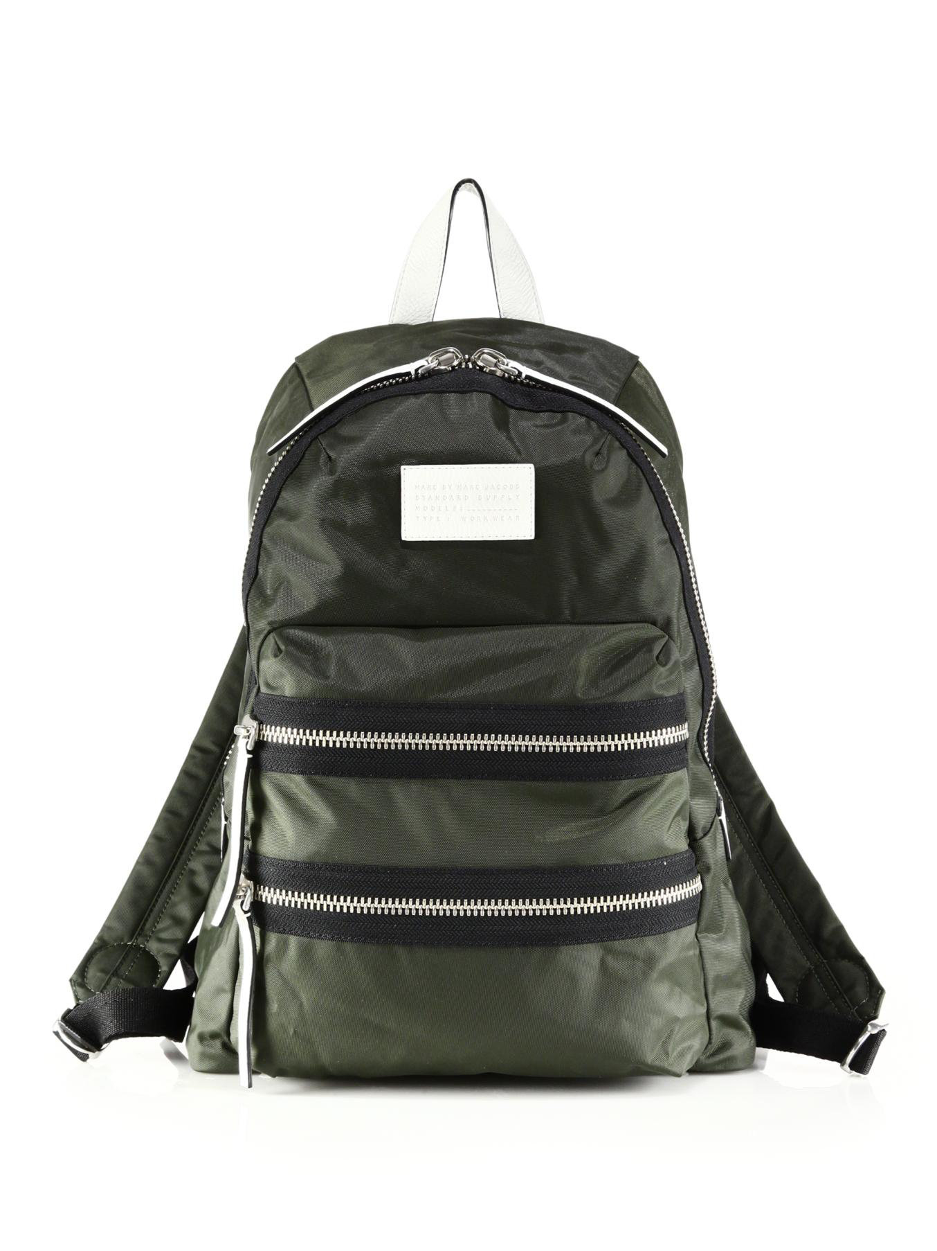 marc by marc jacobs domo arigato packrat backpack in black. Black Bedroom Furniture Sets. Home Design Ideas