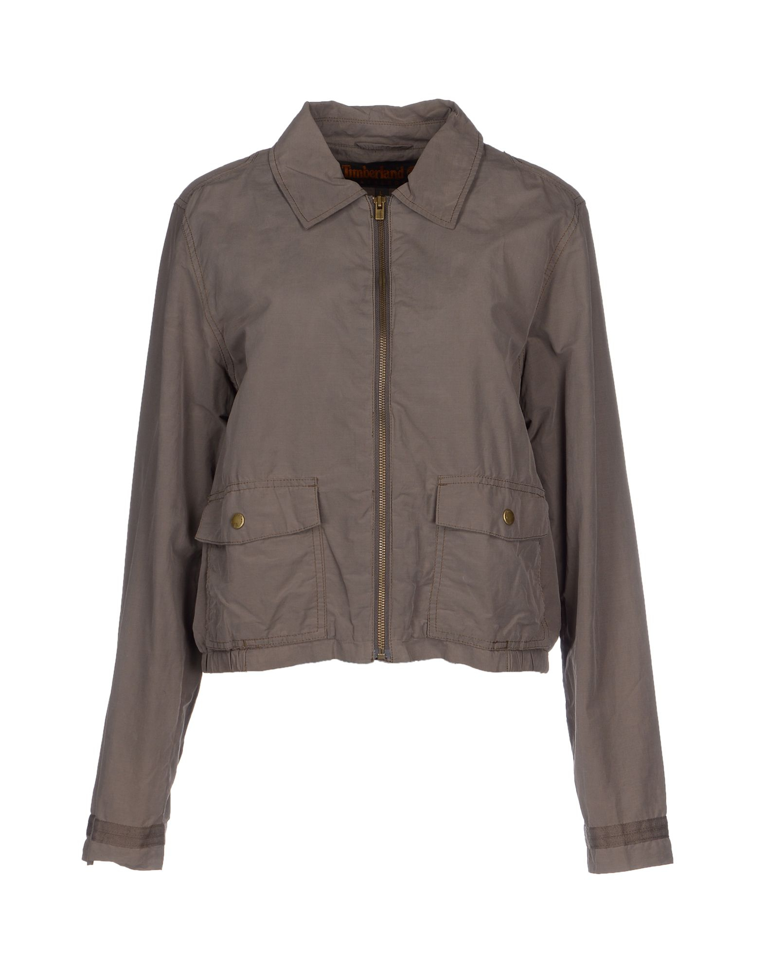 timberland jacket in for khaki lyst