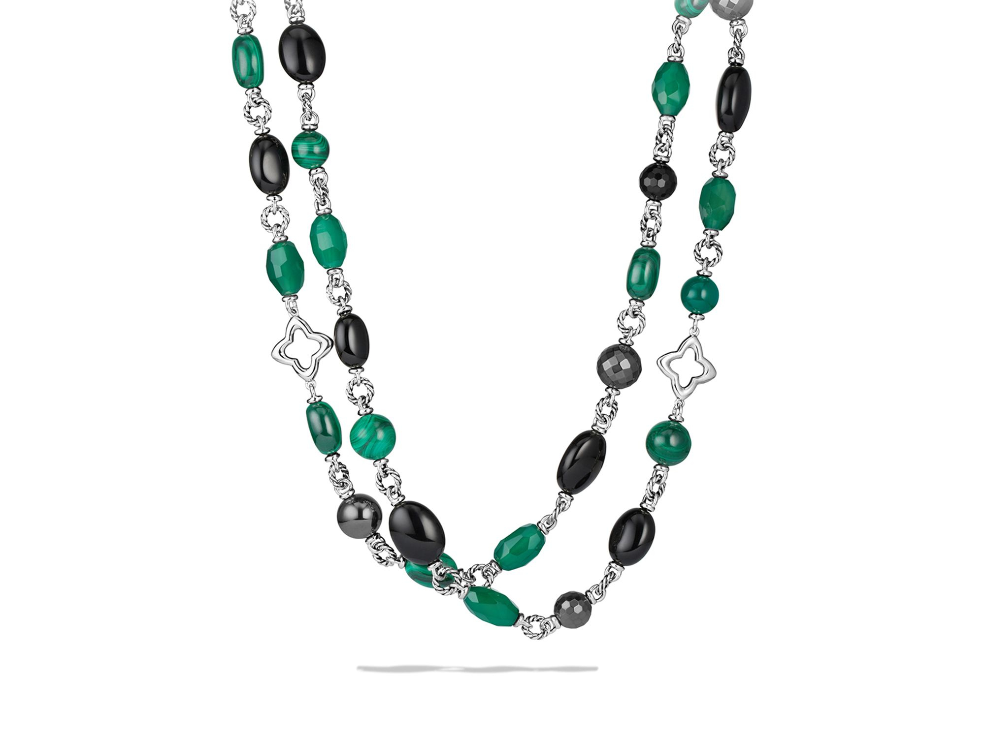 product pendant green necklace onyx zevar silver