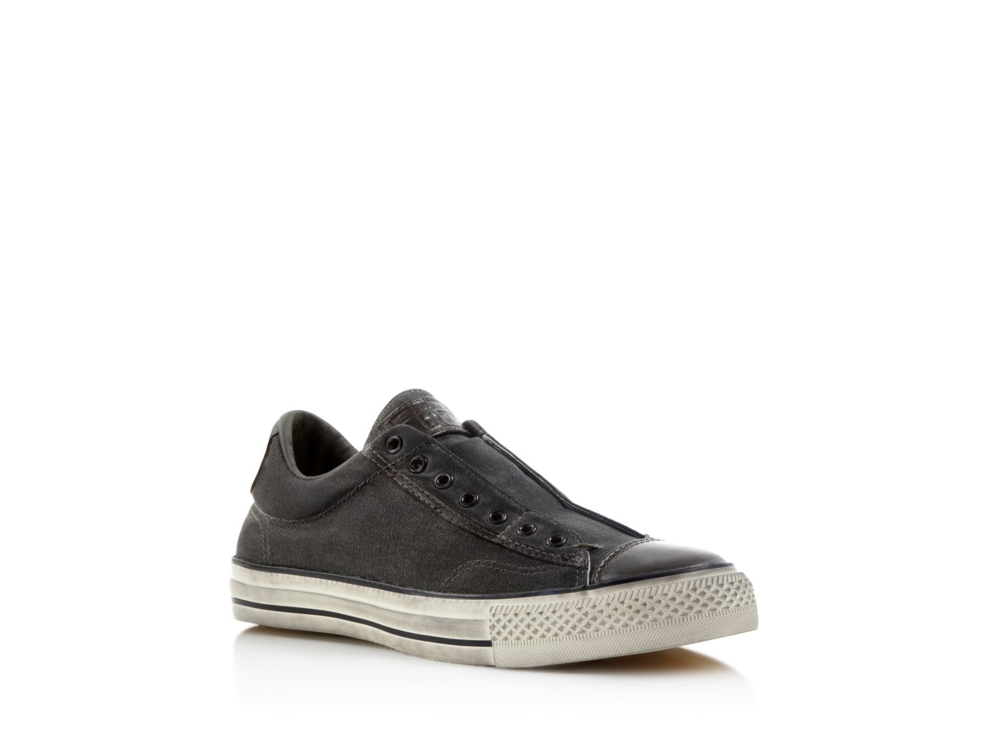 85b1e4794e48fe Converse All Star Vintage Slip On Sneakers in Gray for Men .