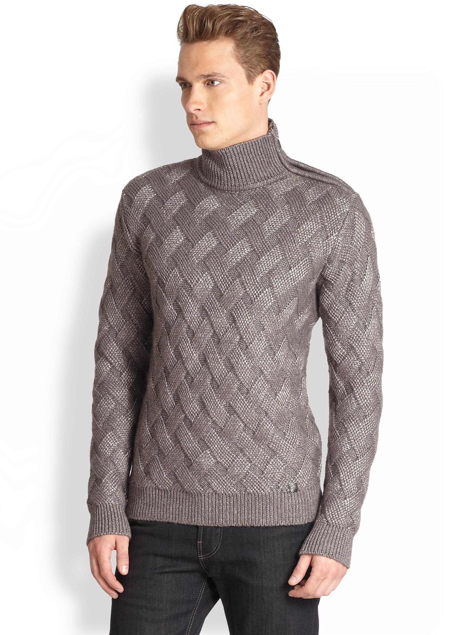 versace mens turtleneck sweater - Serafini Pizzeria