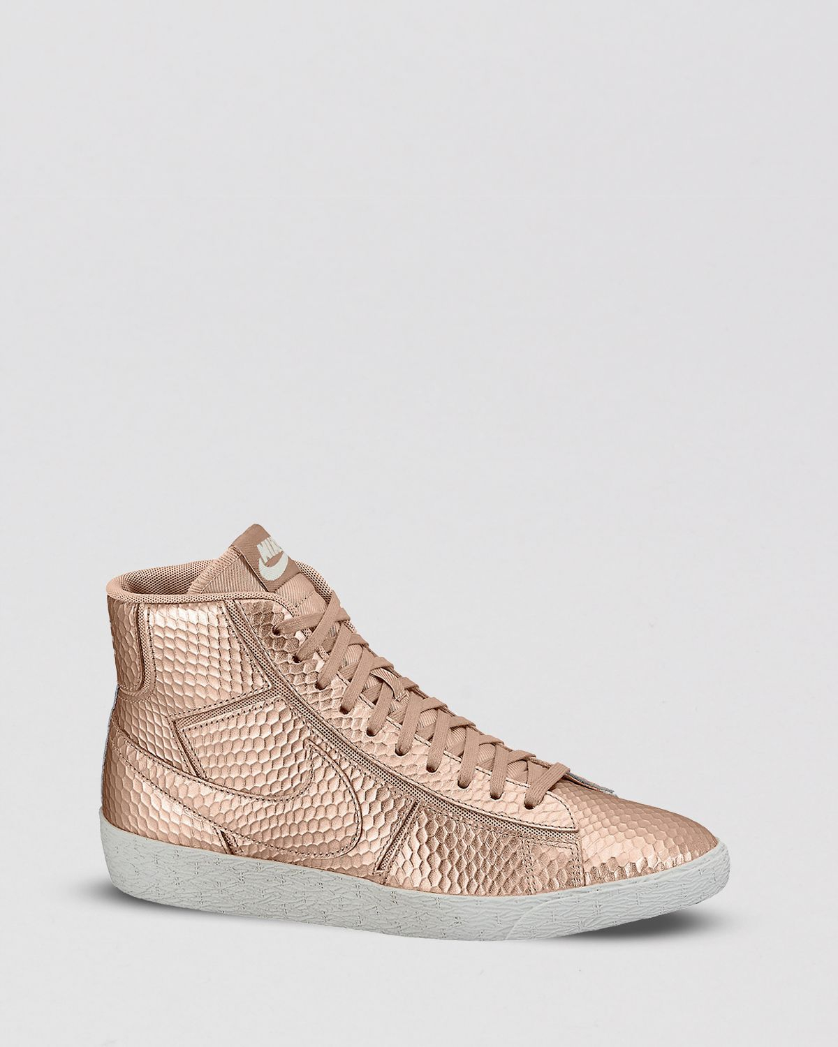 cd3fc99b3421 Lyst - Nike Lace Up High Top Sneakers Womens Blazer Mid Cutout in ...