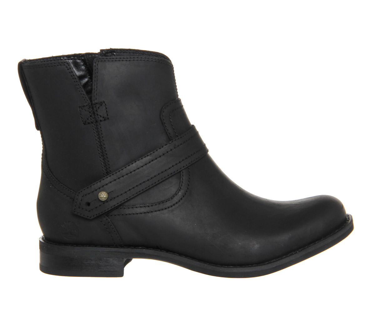 timberland ek savin hill ankle boots in black lyst