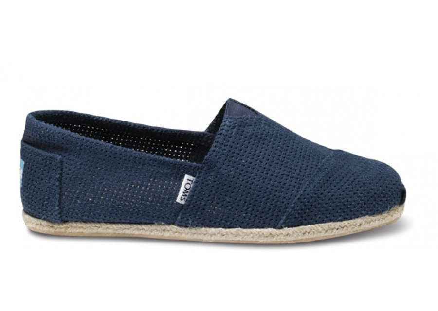 Toms Shoes With Lace Holes