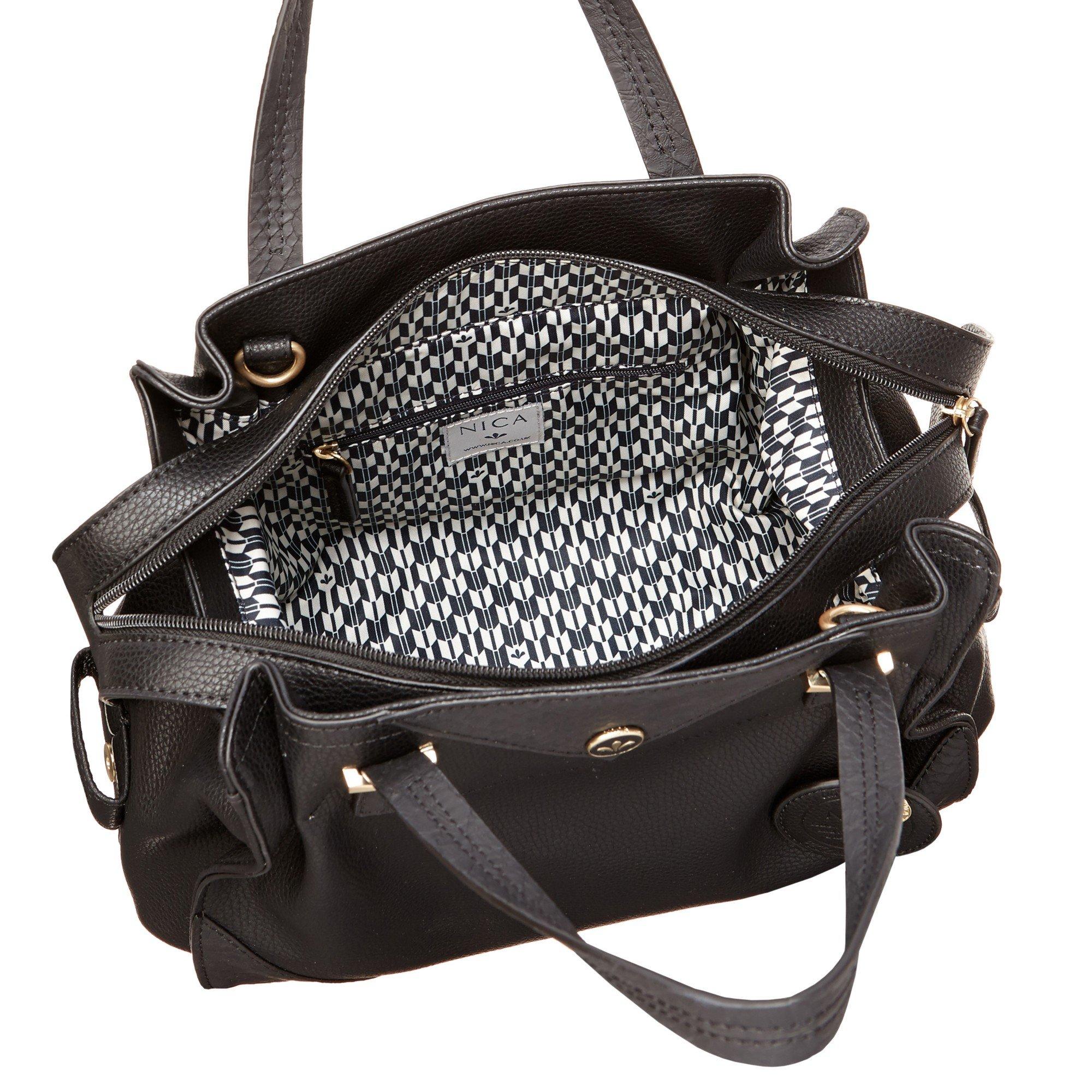 10d9cbf5360 Nica Ava Grab Bag in Black - Lyst