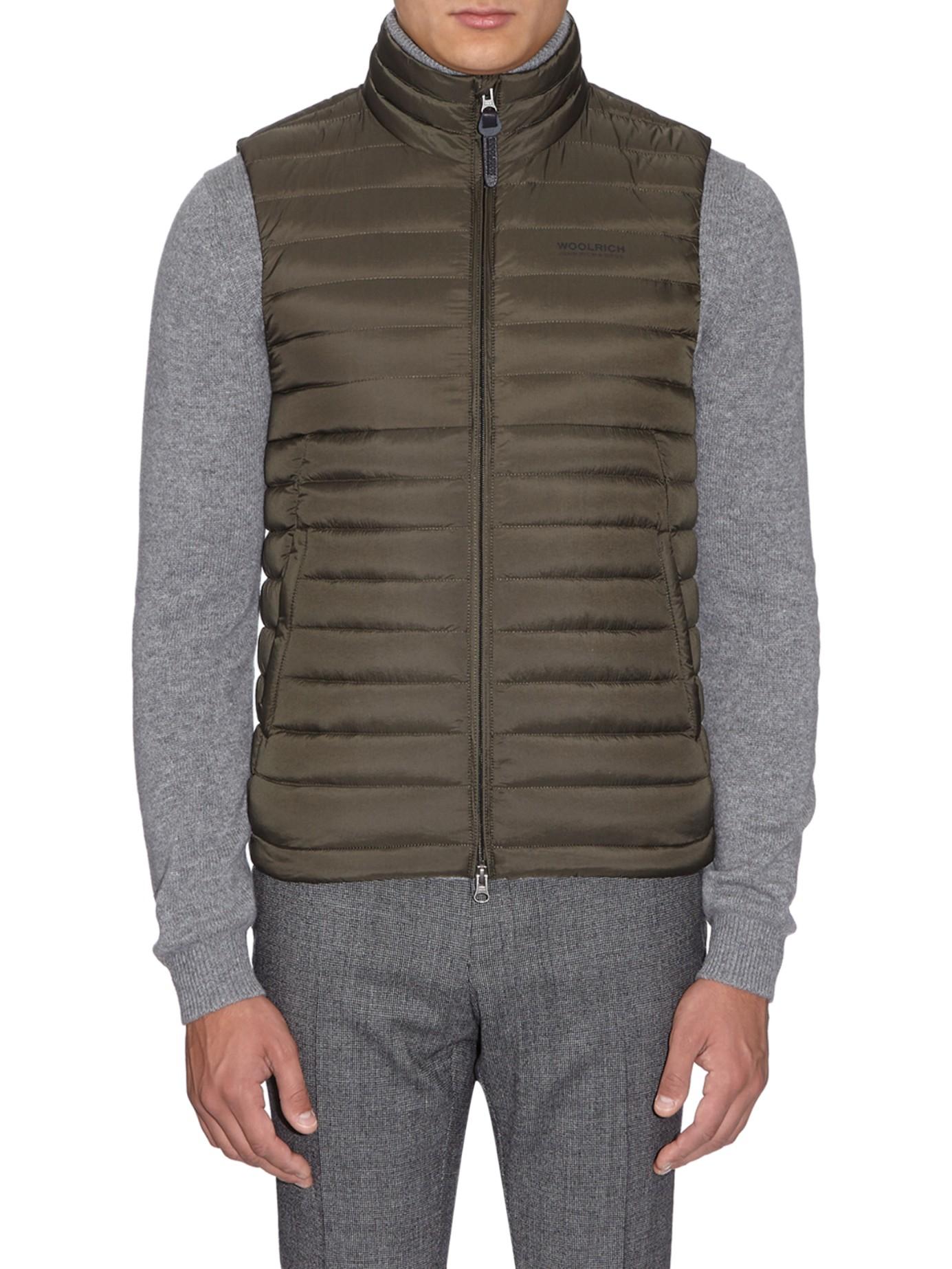 Woolrich Green Vest