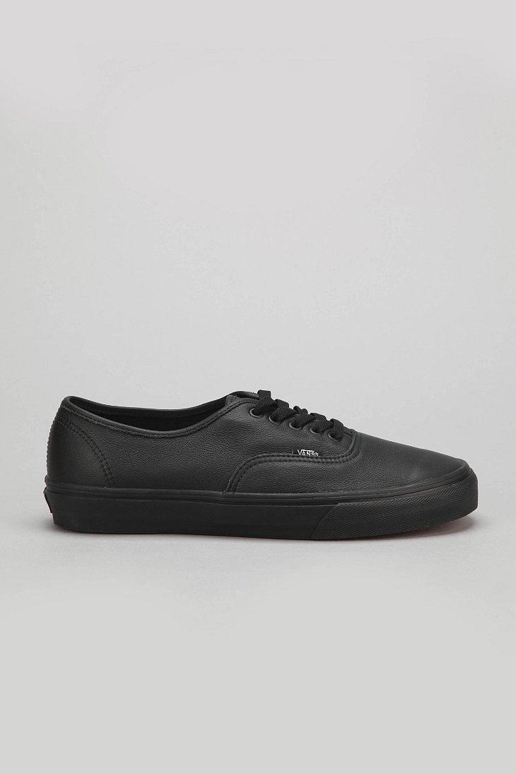 vans authentic italian leather